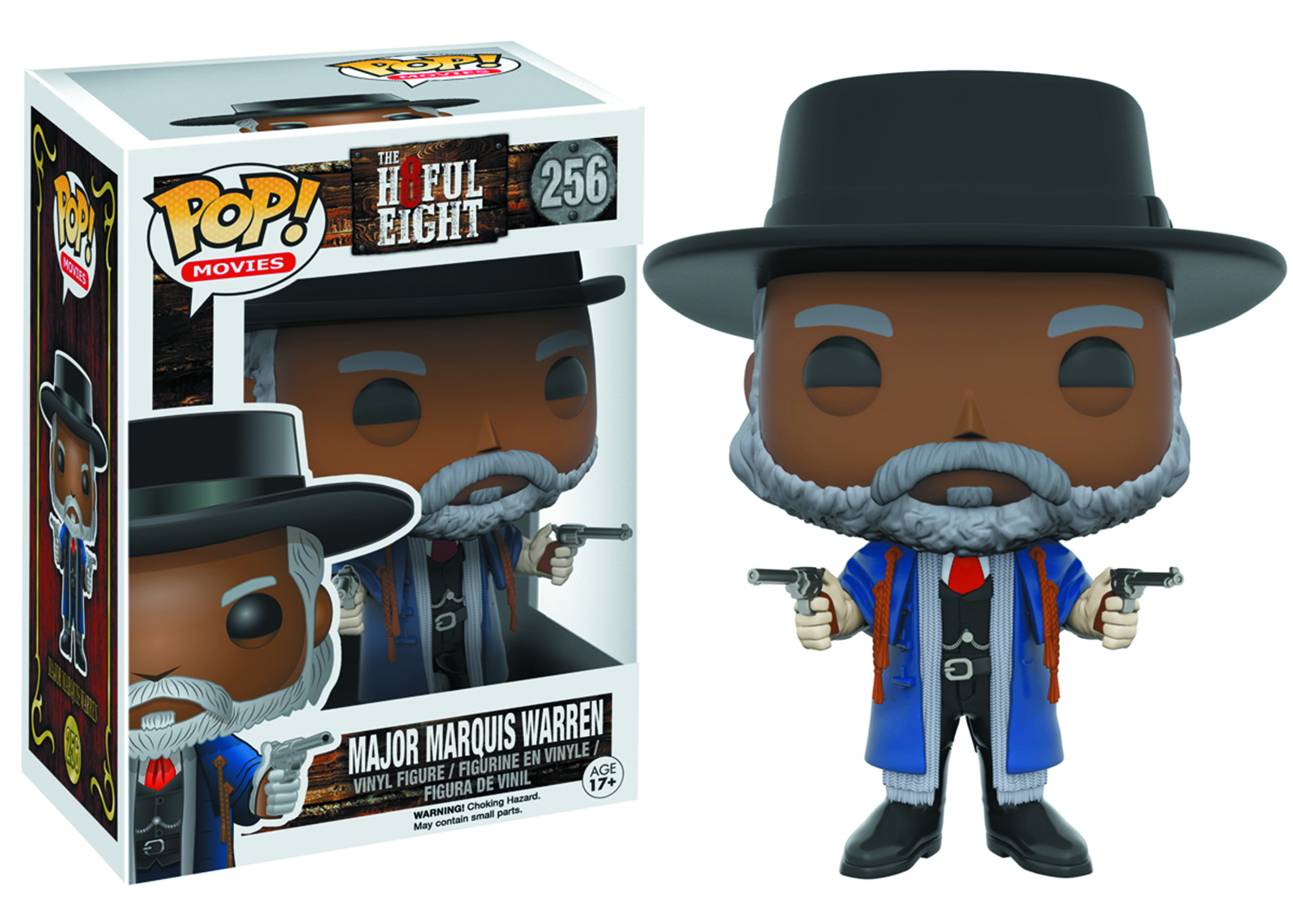 POP HATEFUL EIGHT MARQUIS WARREN VINYL FIG