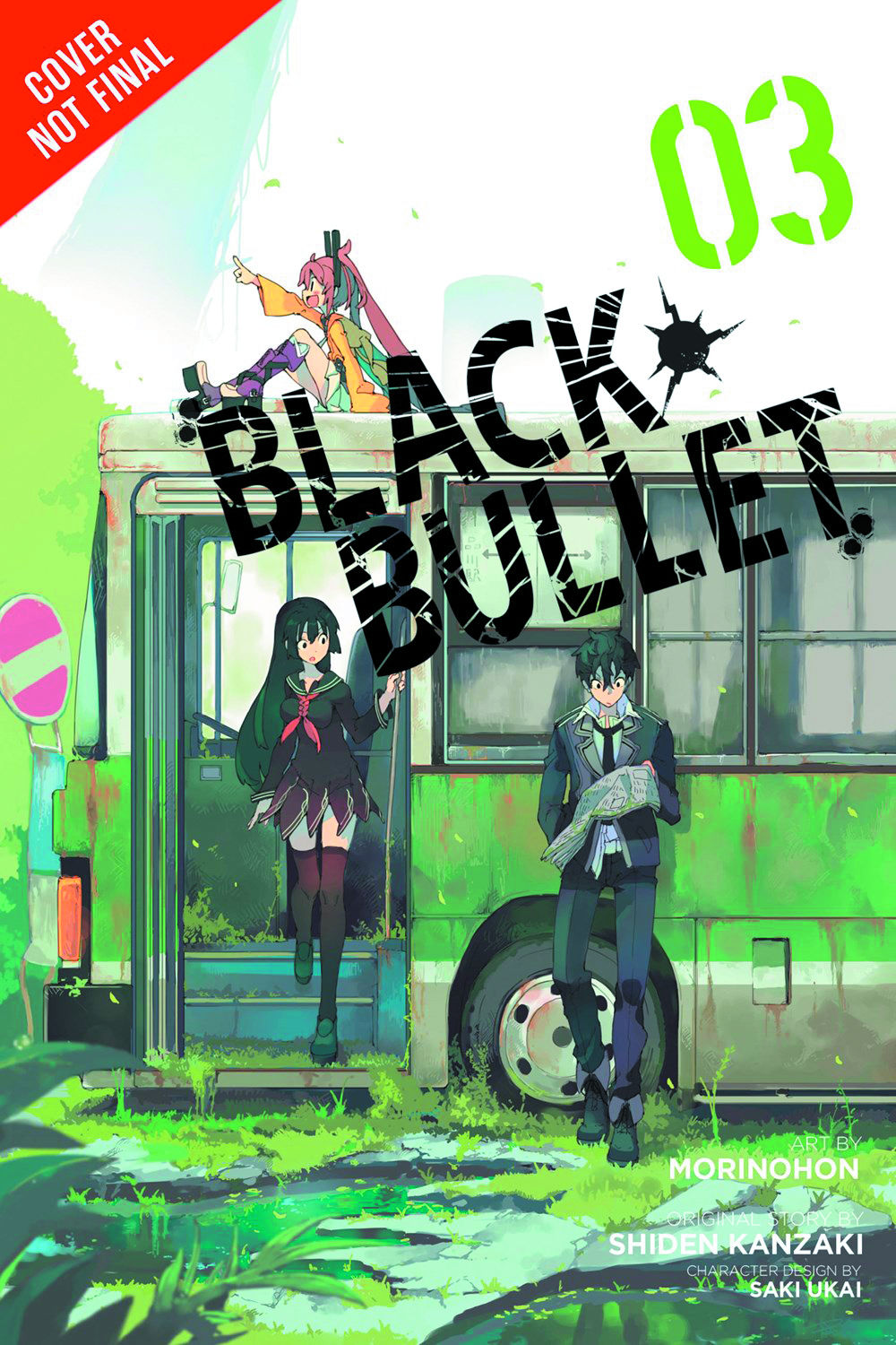 BLACK BULLET GN VOL 03