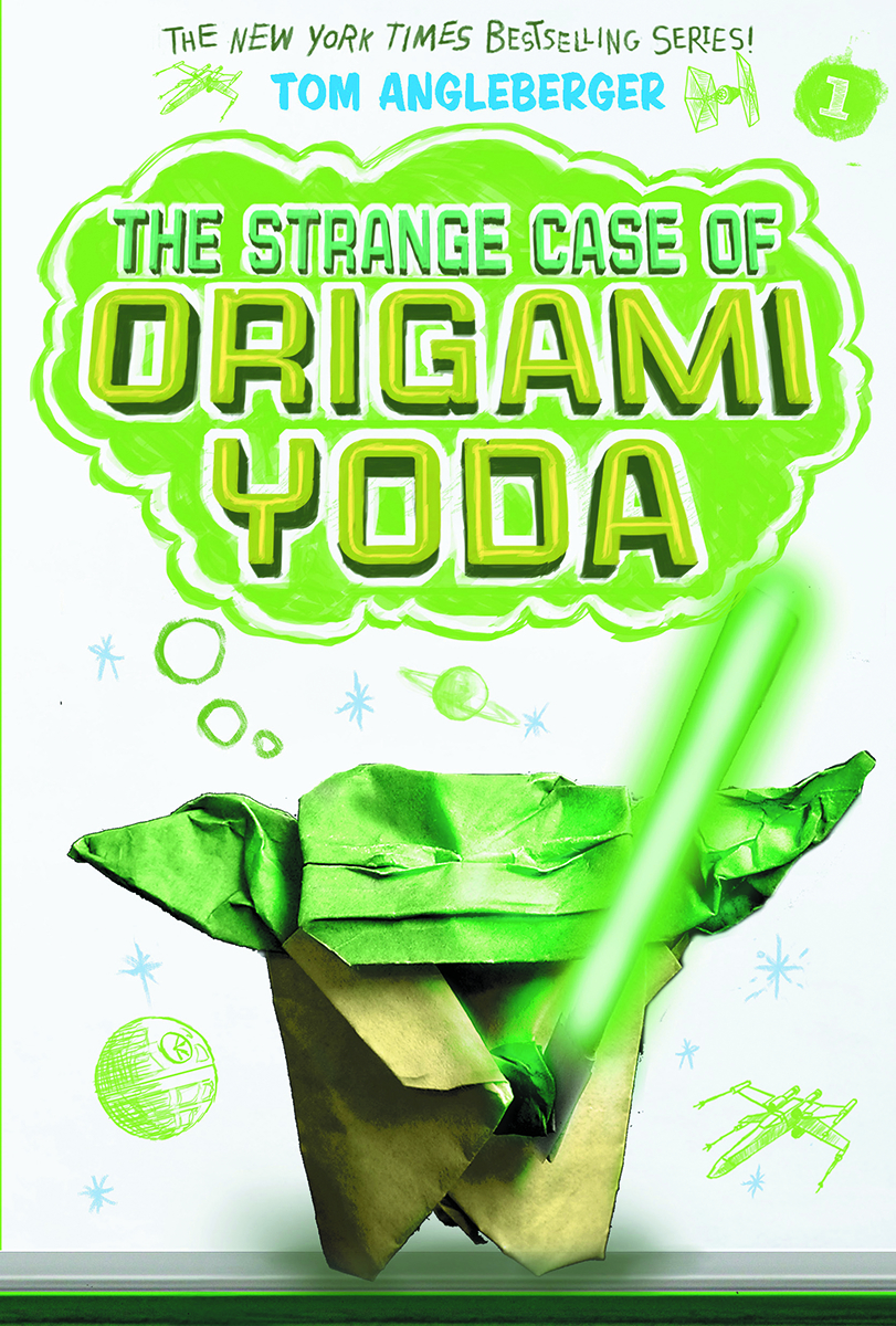 THE STRANGE CASE OF ORIGAMI YODA SC