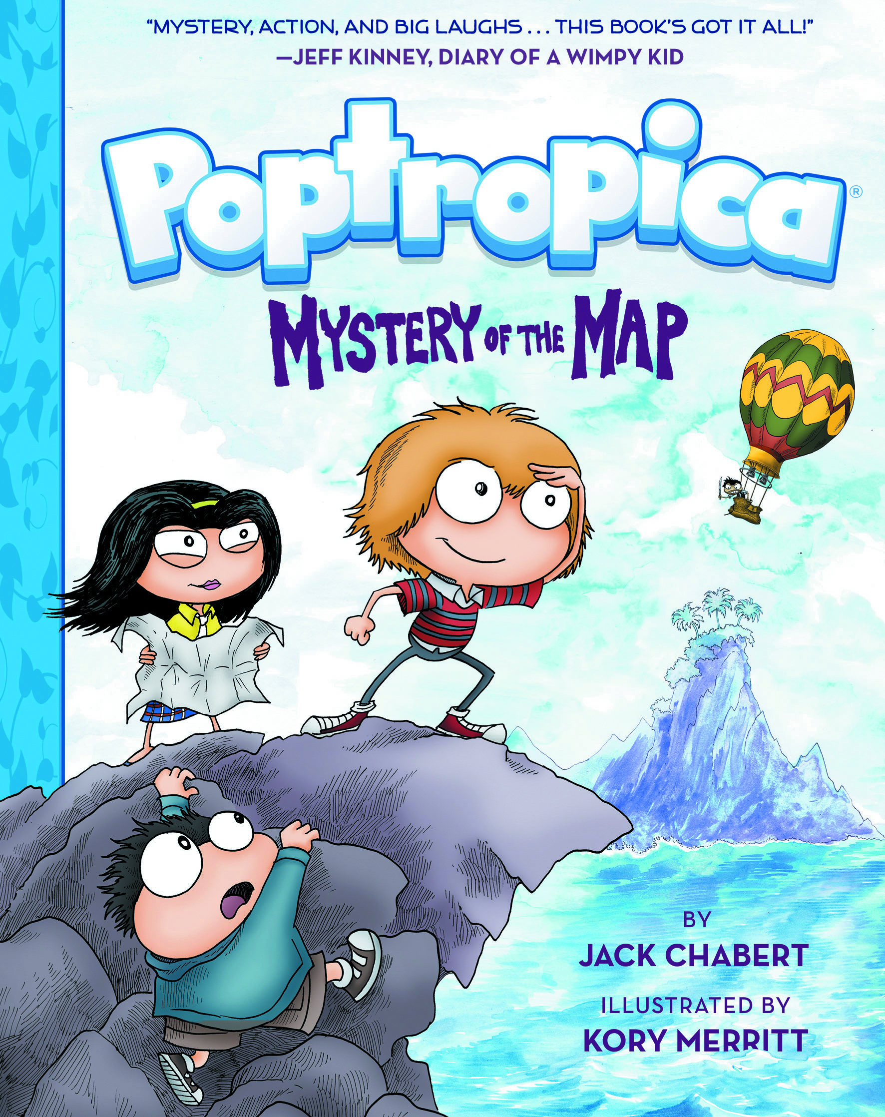 POPTROPICA BOOK 01 MYSTERY OF THE MAP