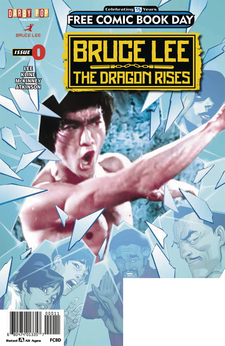 FCBD 2016 BRUCE LEE DRAGON RISES #0