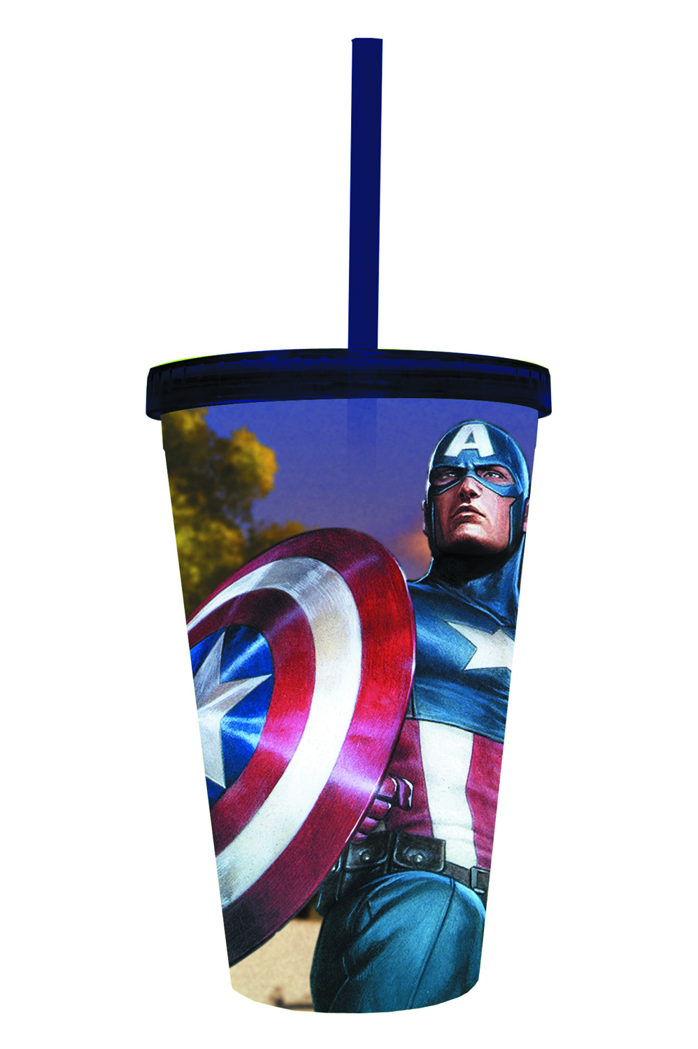 MARVEL HEROES CAPTAIN AMERICA ACRYLIC CARNIVAL CUP
