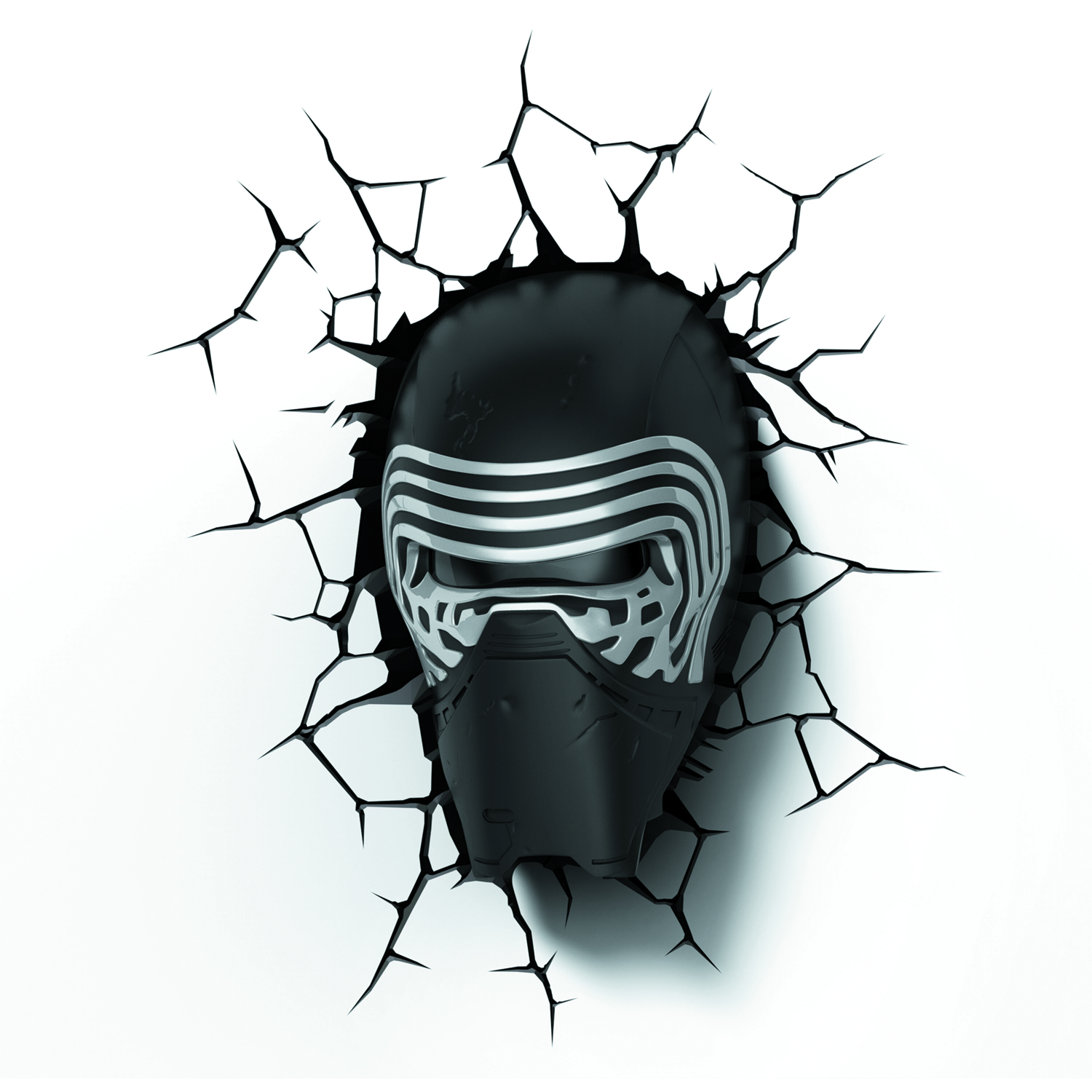 STAR WARS E7 LEAD VILLAIN HELMET 3D LIGHT