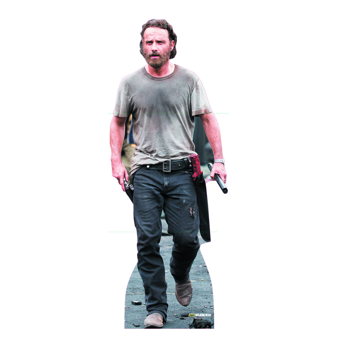 WALKING DEAD RICK GRIMES LIFE-SIZE STANDUP