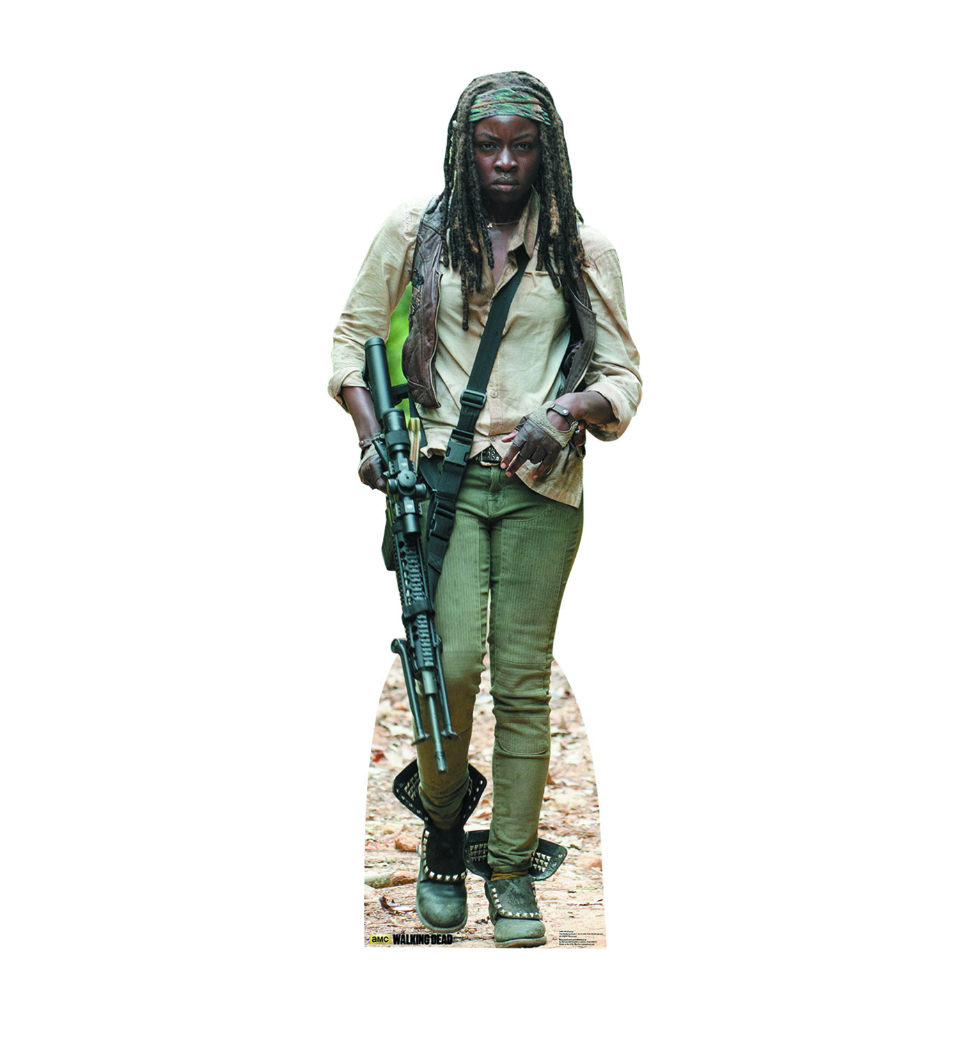 WALKING DEAD MICHONNE LIFE-SIZE STANDUP