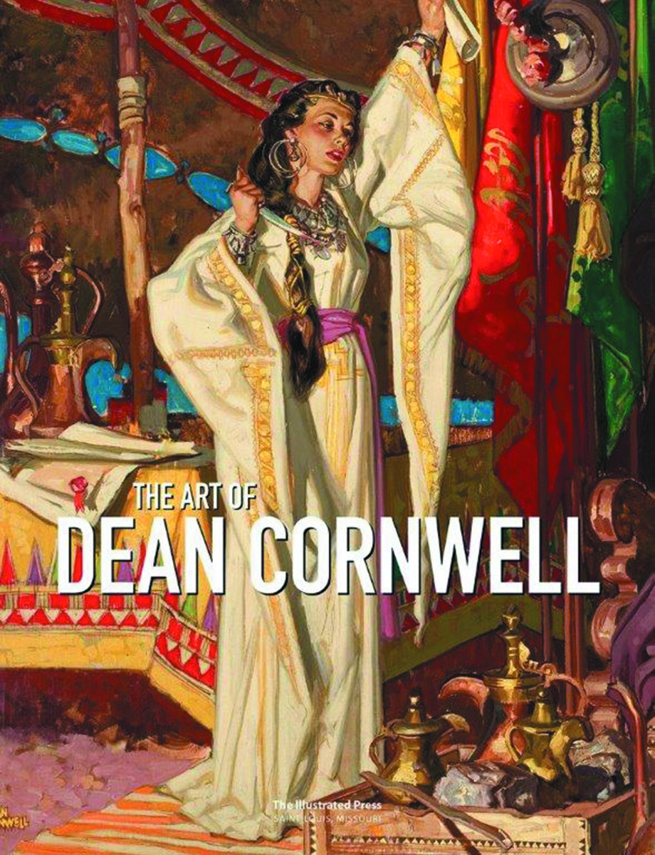 ART OF DEAN CORNWELL HC