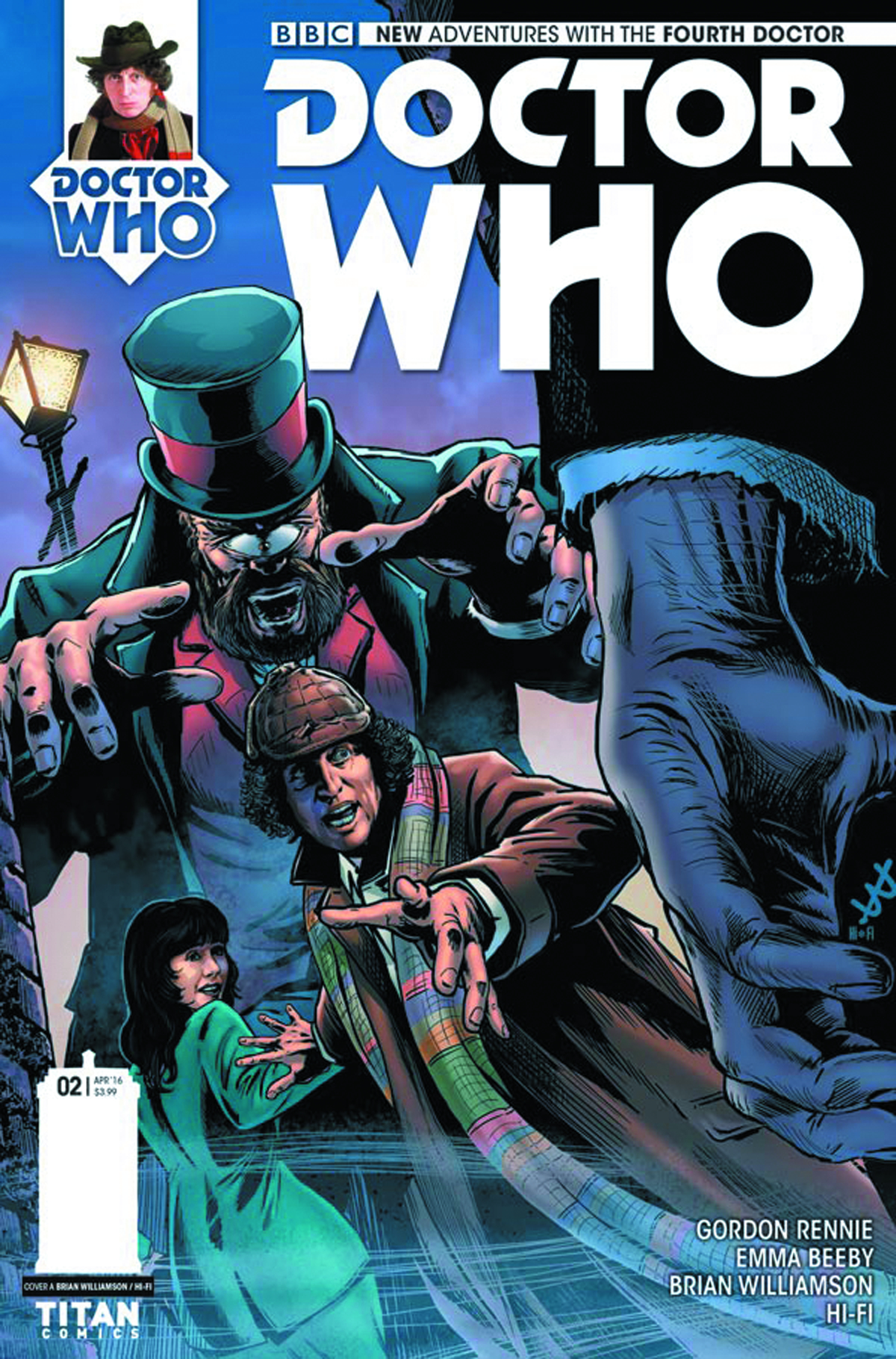 DOCTOR WHO 4TH #2 (OF 5) CVR A WILLIAMSON