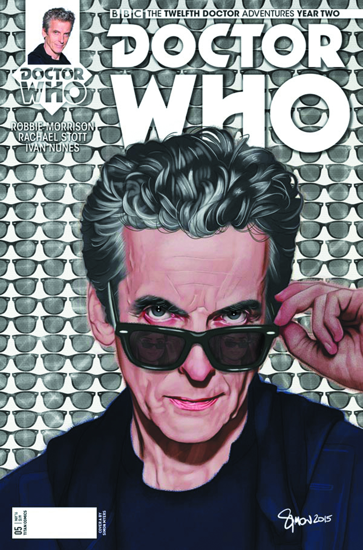 DOCTOR WHO 12TH YEAR TWO #5 CVR A MYERS