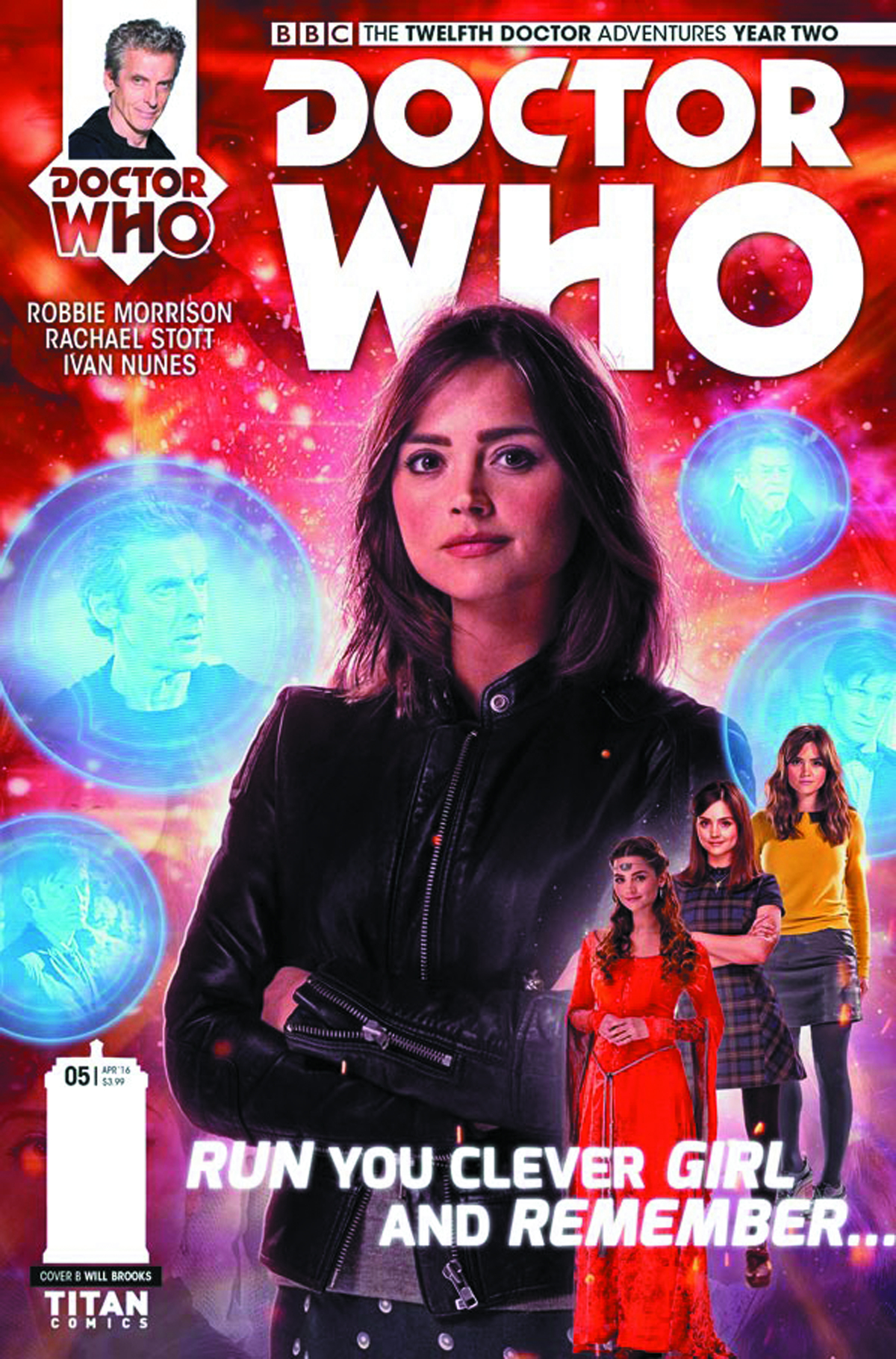 DOCTOR WHO 12TH YEAR TWO #5 CVR B PHOTO