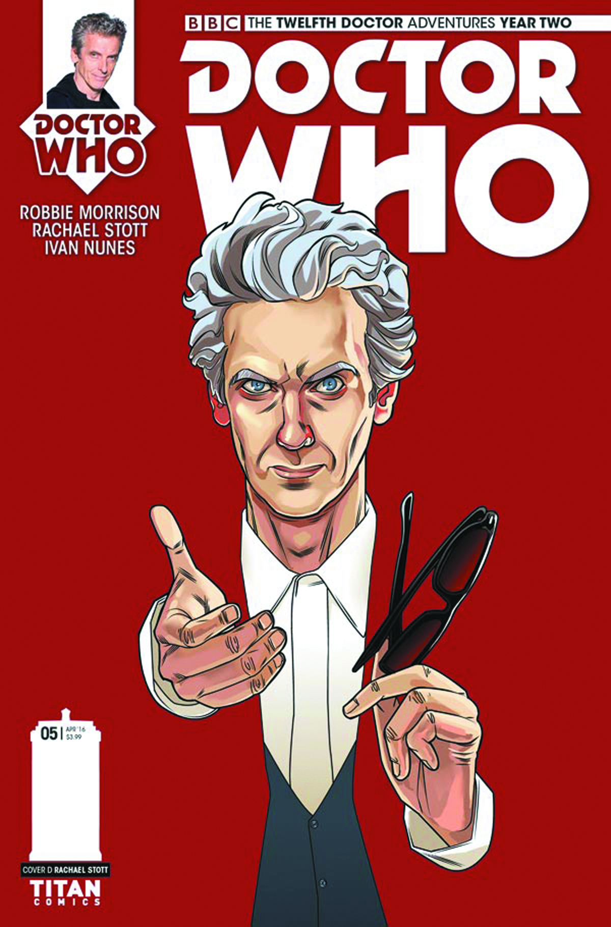 DOCTOR WHO 12TH YEAR TWO #5 CVR D 10 COPY INCV