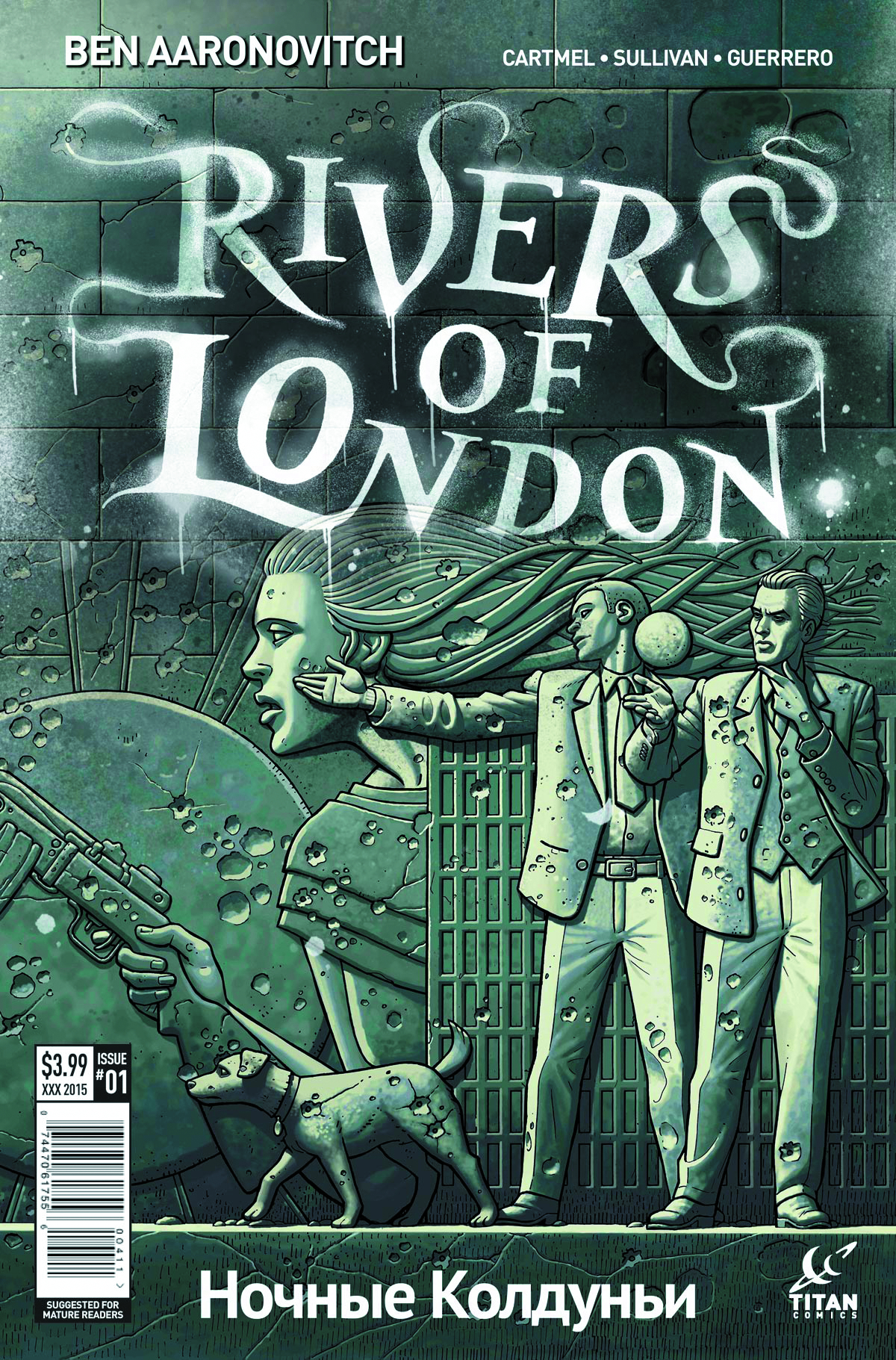 RIVERS OF LONDON NIGHT WITCH #1 (OF 5) CVR A MCCAFFREY