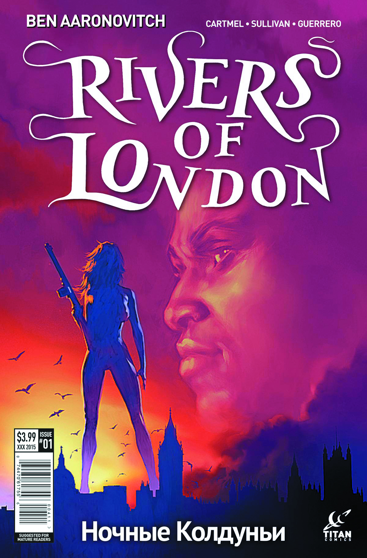 RIVERS OF LONDON NIGHT WITCH #1 (OF 5) CVR B RONALD
