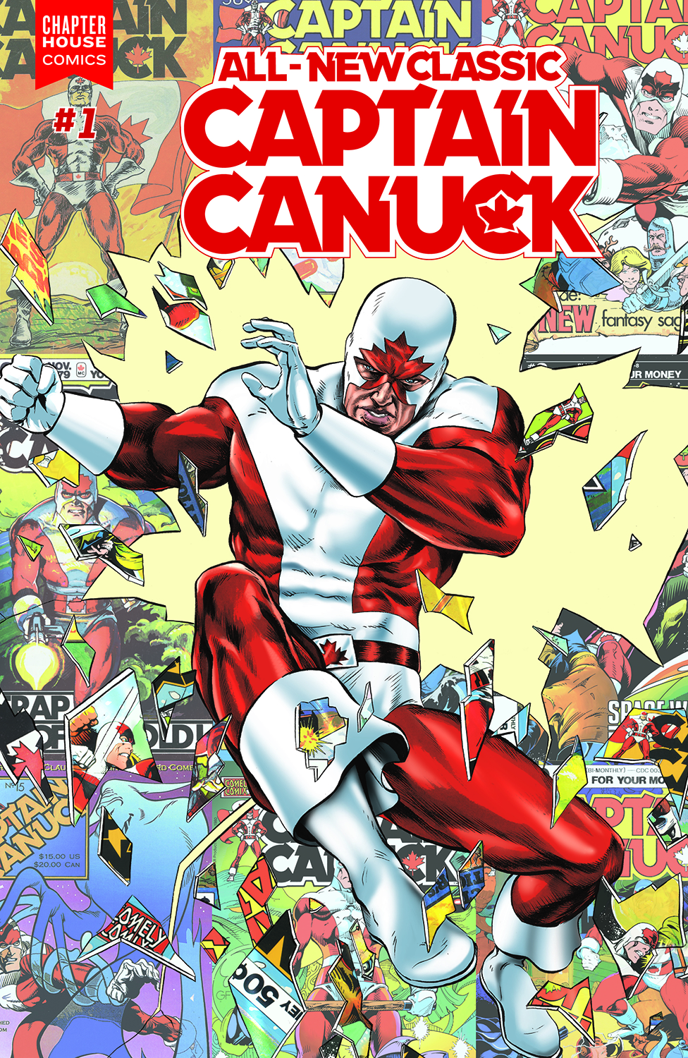 ALL NEW CLASSIC CAPTAIN CANUCK #1 CVR B ROOTH
