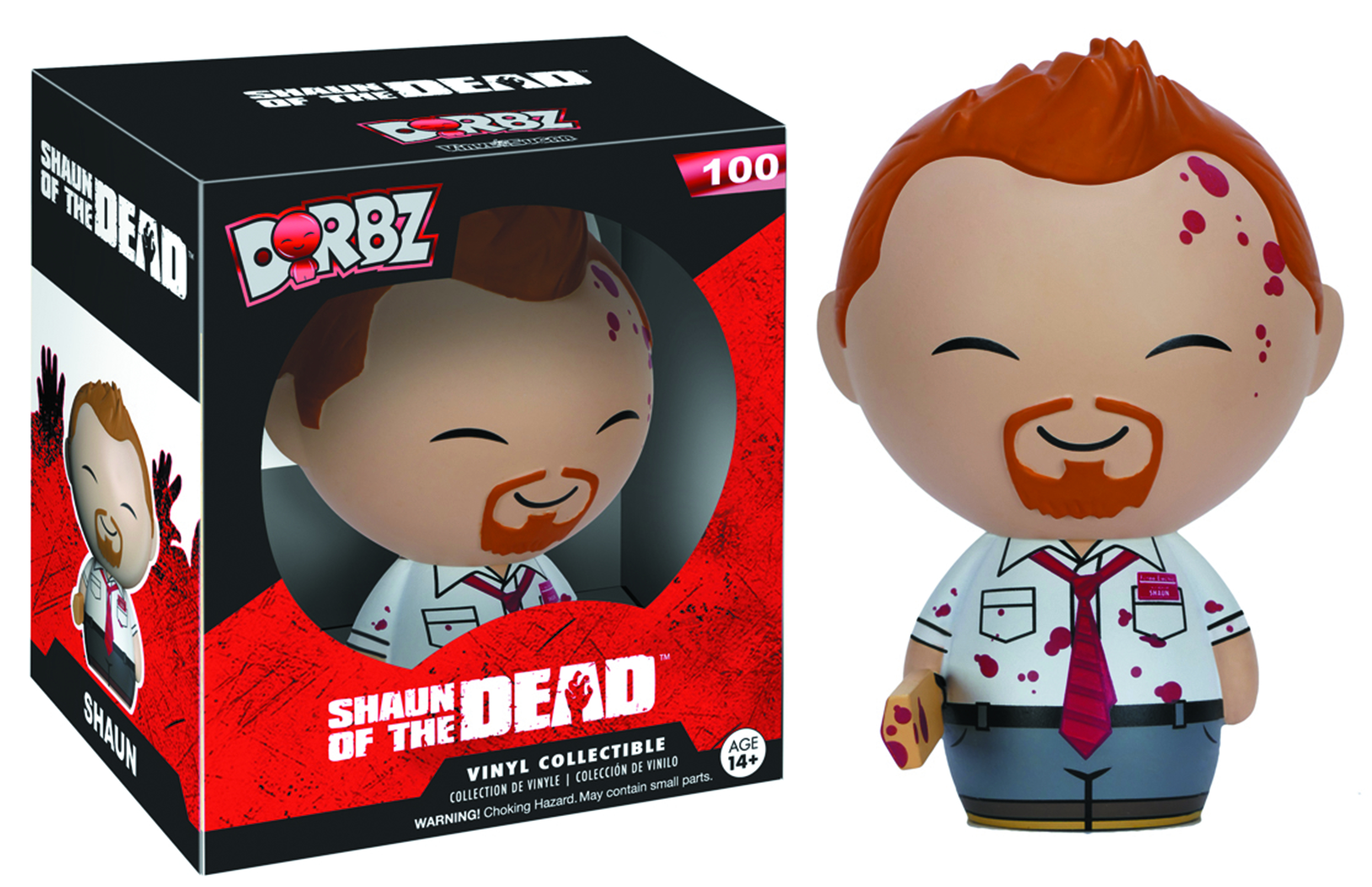 DORBZ SHAUN OF THE DEAD SHAUN VINYL FIG