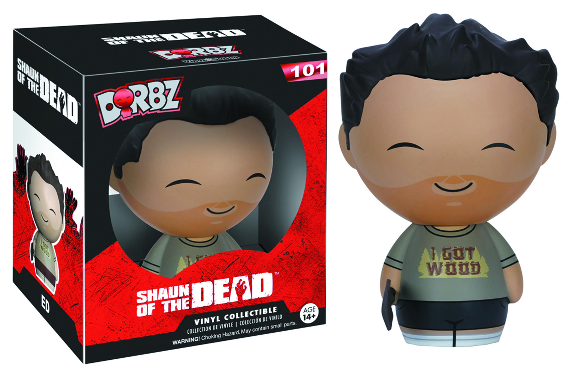 DORBZ SHAUN OF THE DEAD ED VINYL FIG