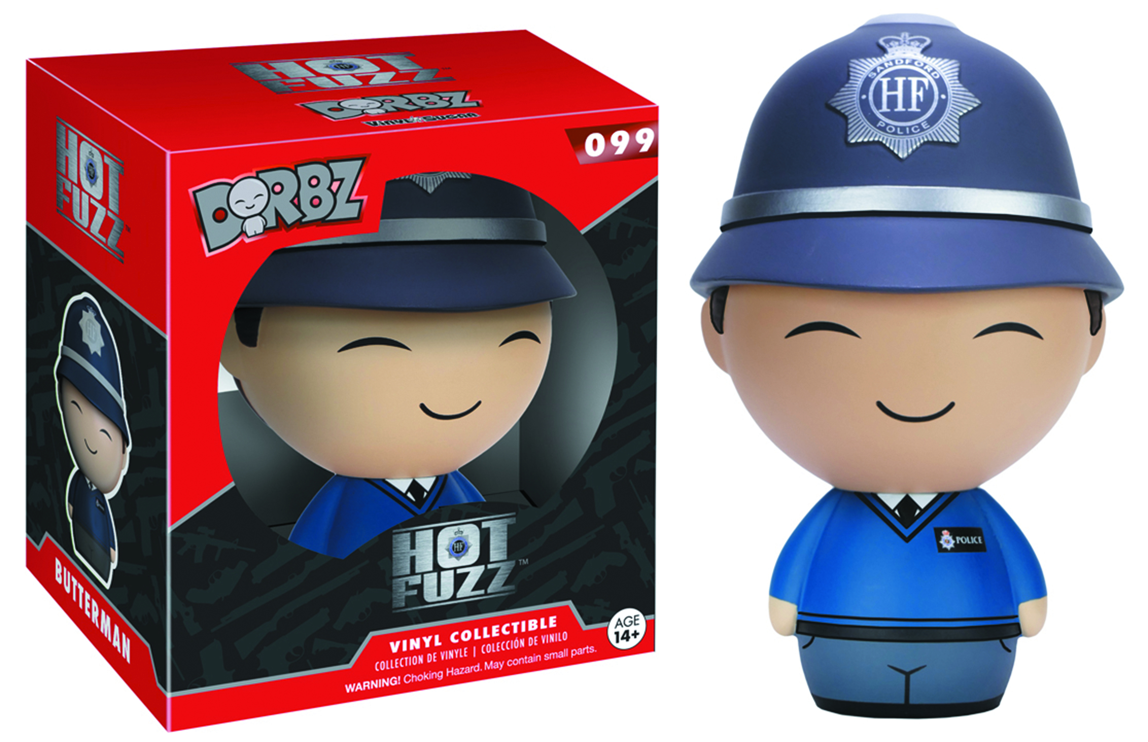 DORBZ HOT FUZZ DANNY BUTTERMAN VINYL FIG