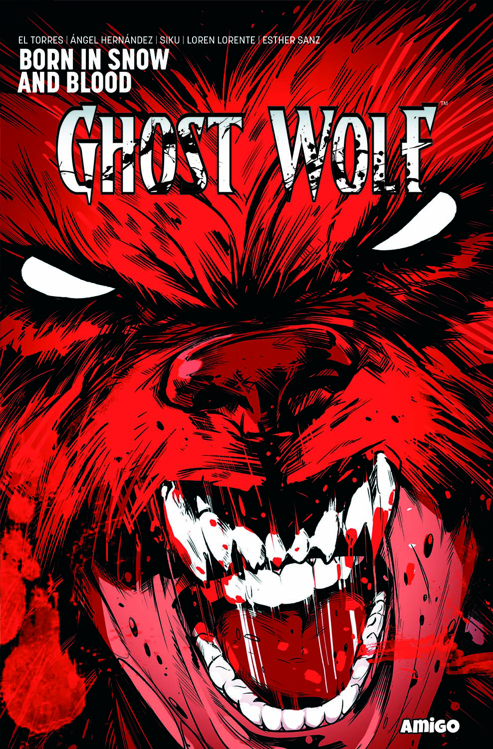 GHOST WOLF BORN IN SNOW AND BLOOD TP