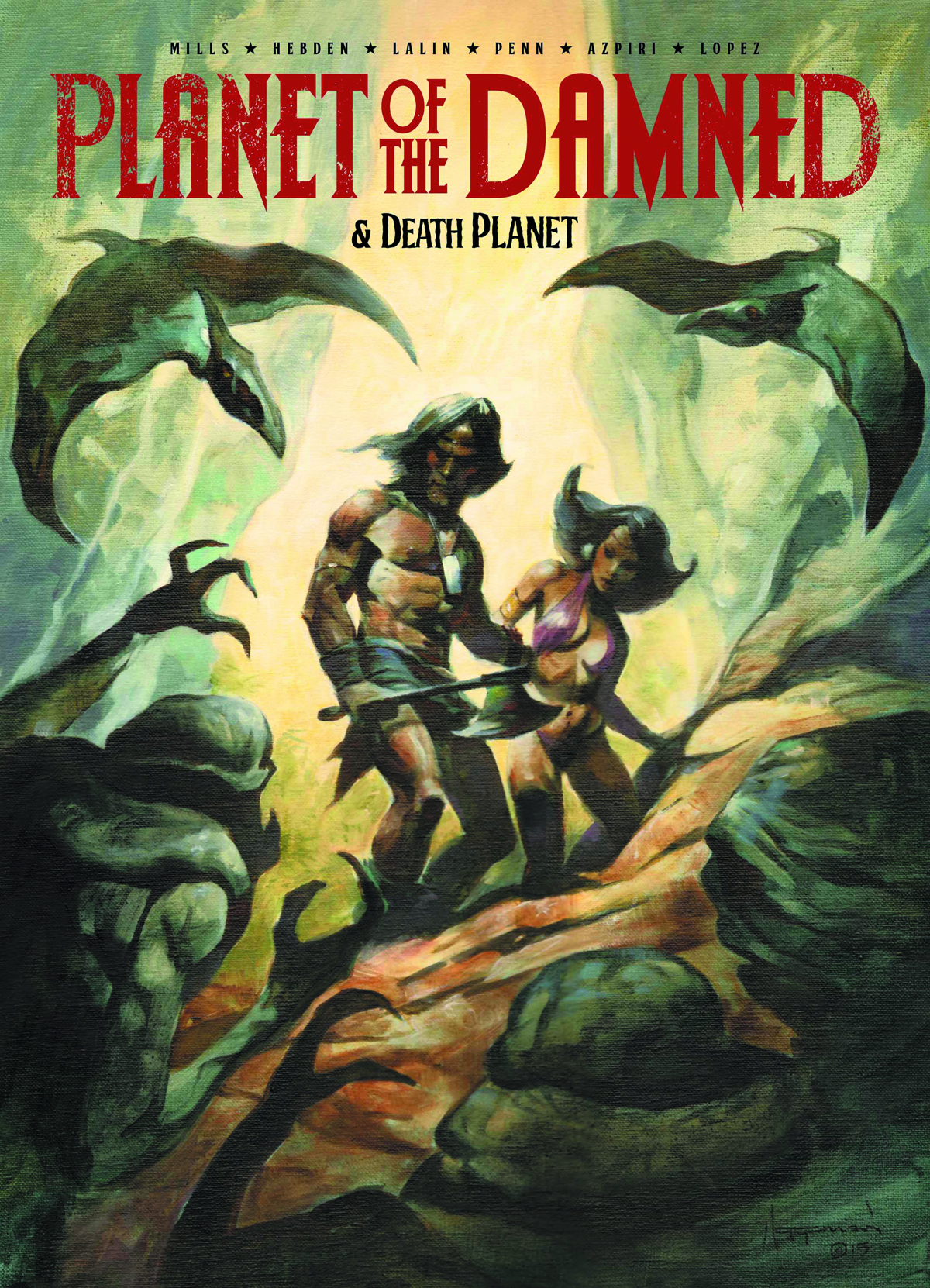 PLANETS OF THE DAMNED & DEATH PLANET TP