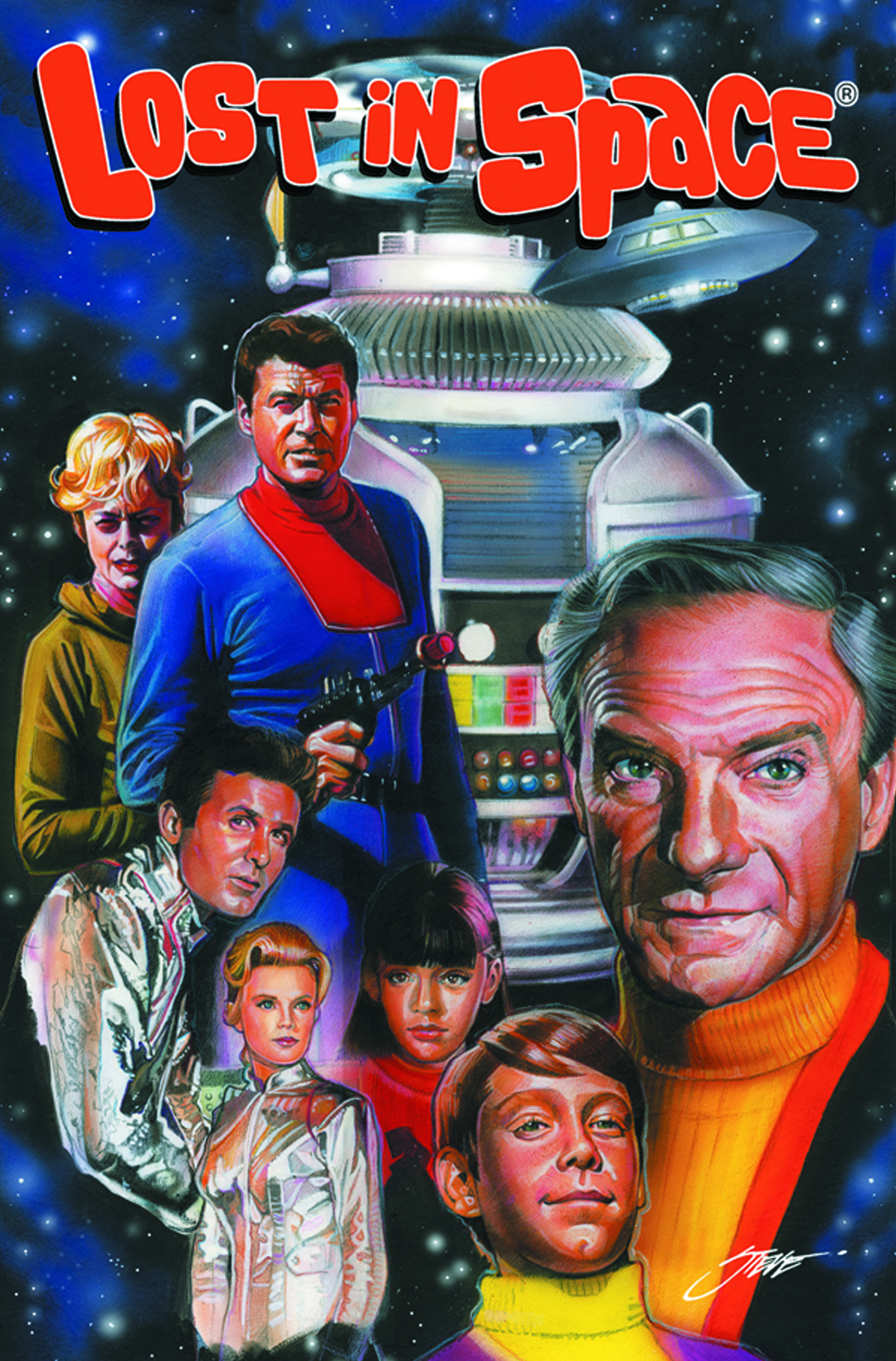 IRWIN ALLEN LOST IN SPACE #1 CVR A STANLEY