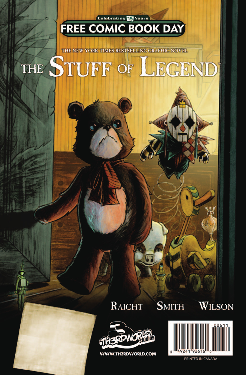 FCBD 2016 STUFF OF LEGEND PREVIEW