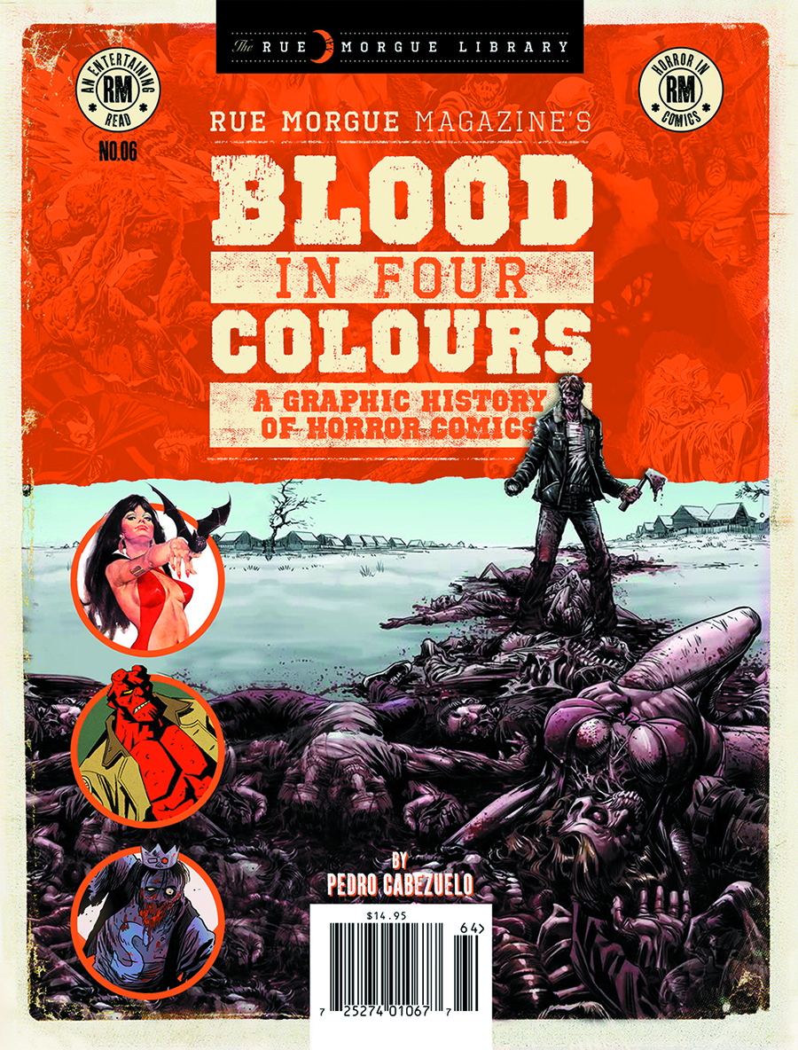 RUE MORGUE SPECIAL BLOOD IN FOUR COLOURS #6