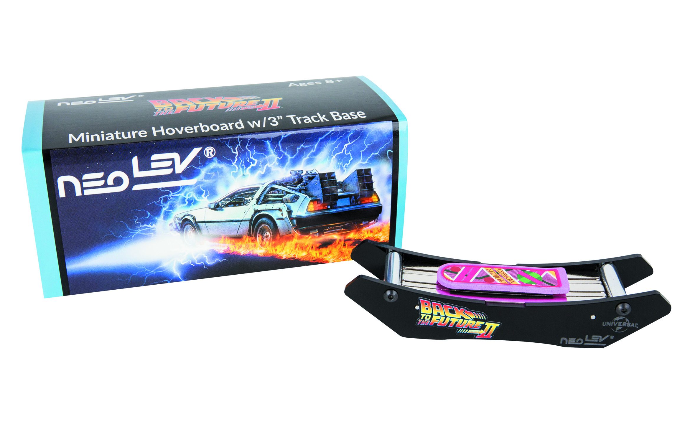 BTTF MINIATURE HOVERBOARD DESK TOY W/3IN BASE