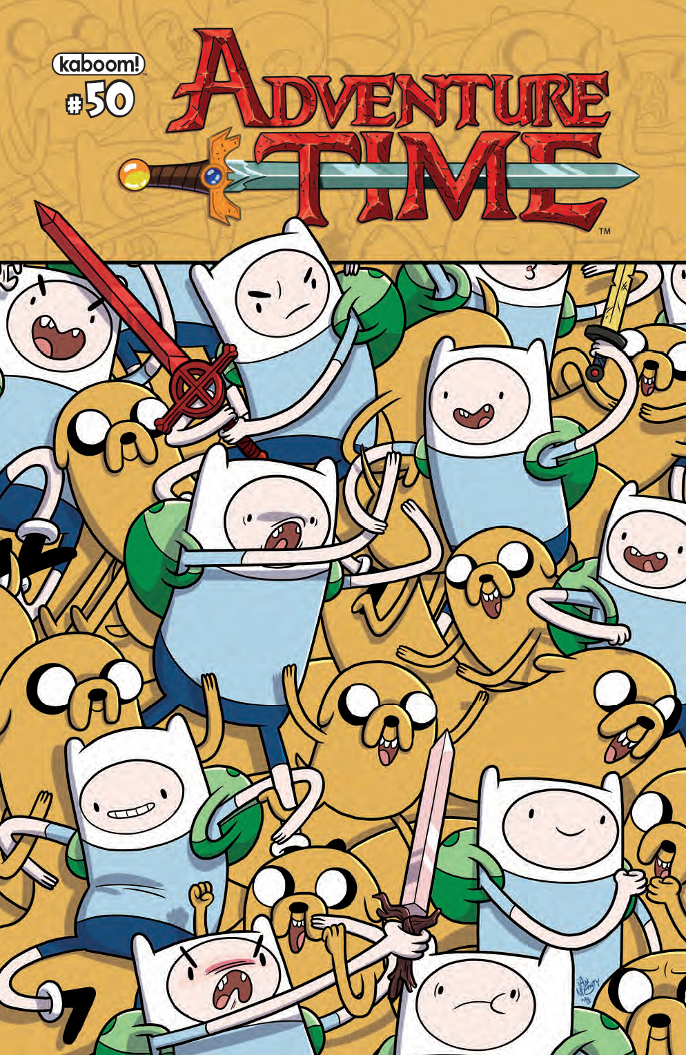 (USE MAR168717) ADVENTURE TIME #50
