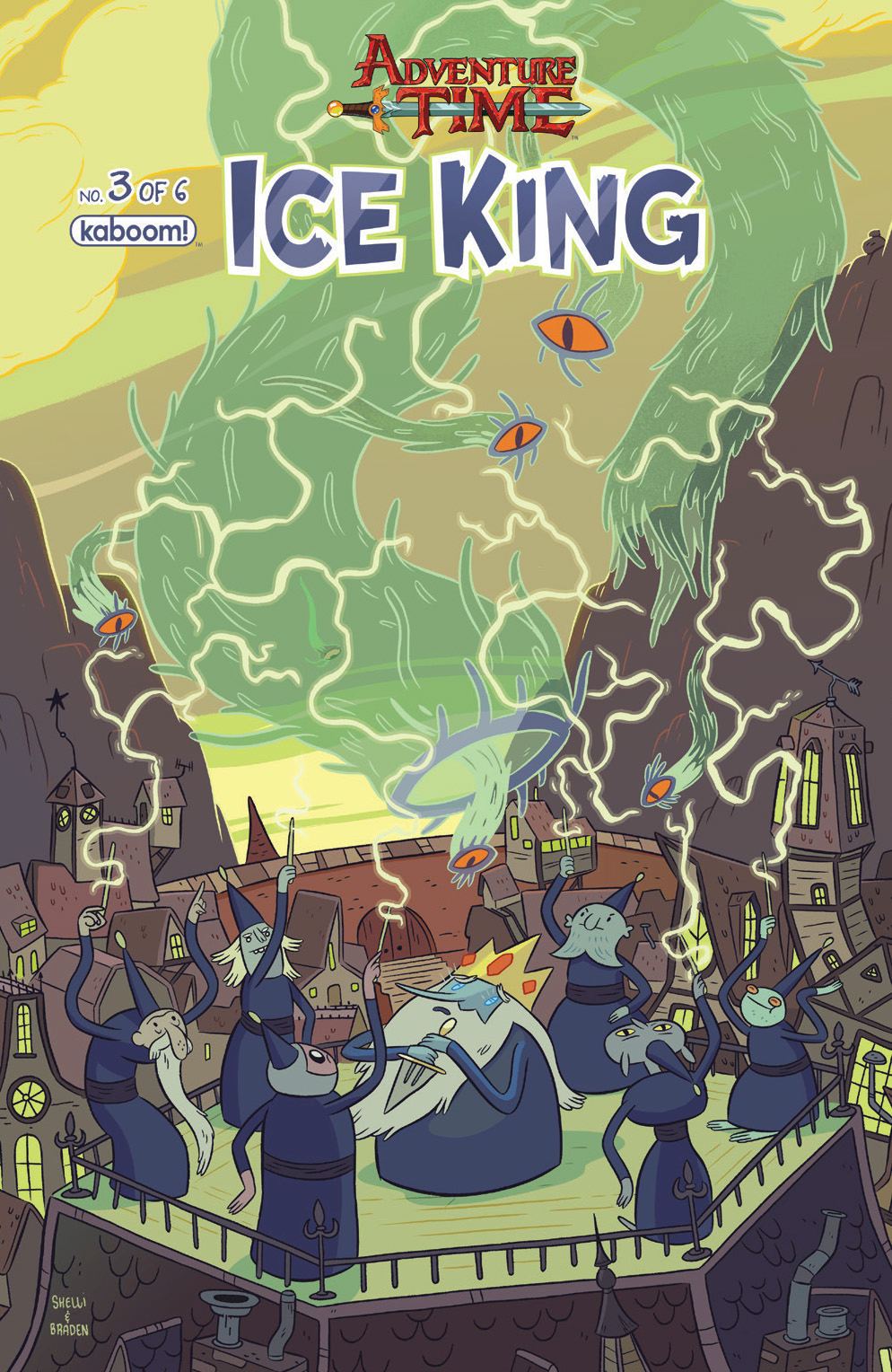 ADVENTURE TIME ICE KING #3