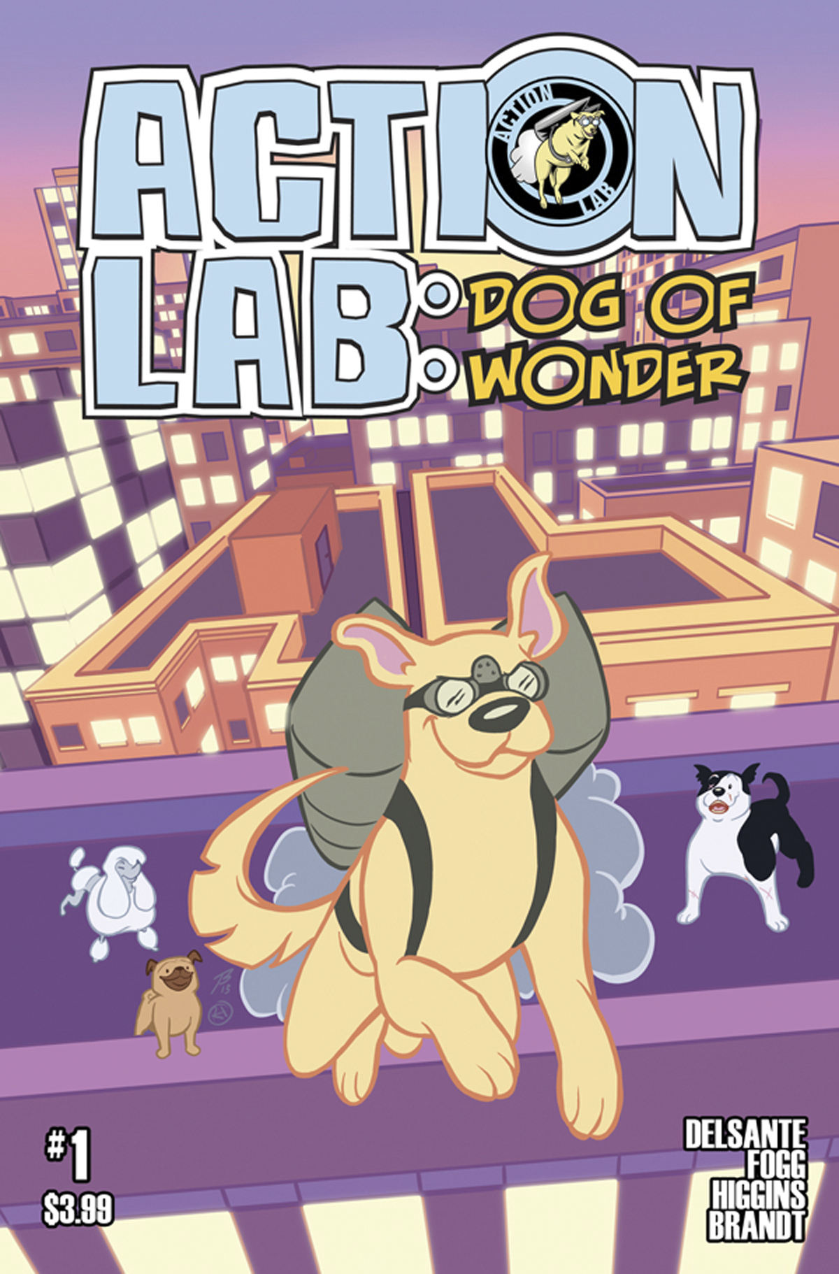 ACTION LAB DOG OF WONDER #1 CVR A HIGGINS & BRANDT