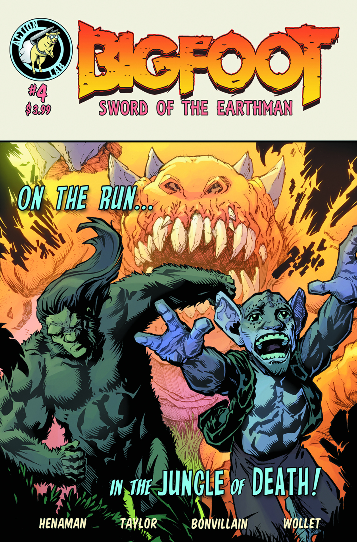 BIGFOOT SWORD OF THE EARTHMAN #4