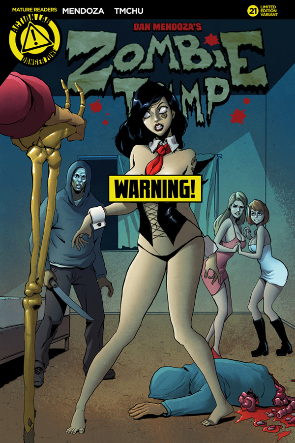 ZOMBIE TRAMP ONGOING #21 CVR B TMCHU RISQUE