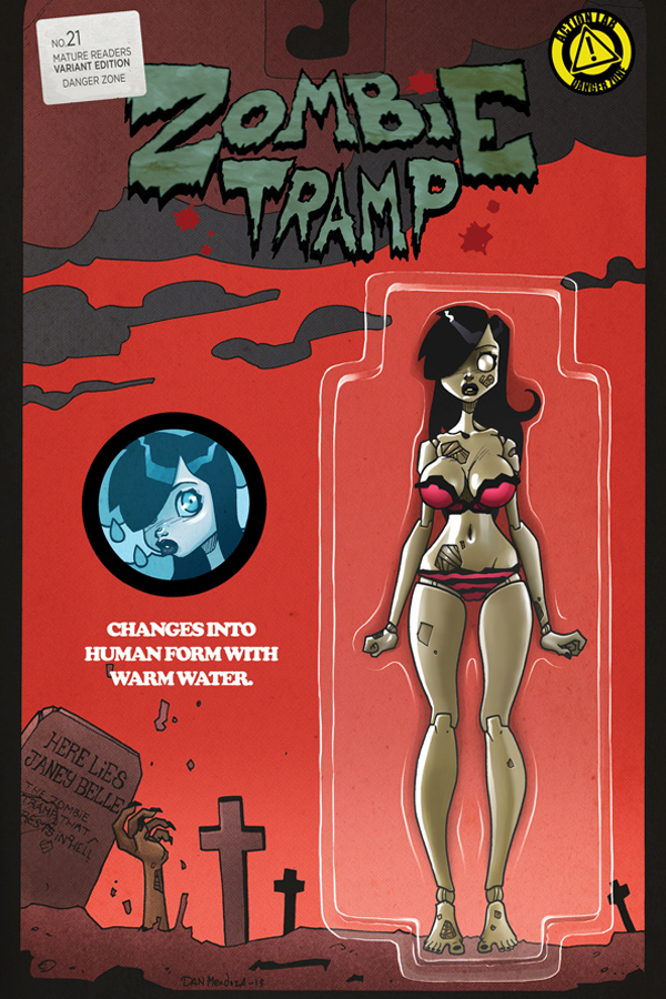 ZOMBIE TRAMP ONGOING #21 CVR C ACTION FIGURE
