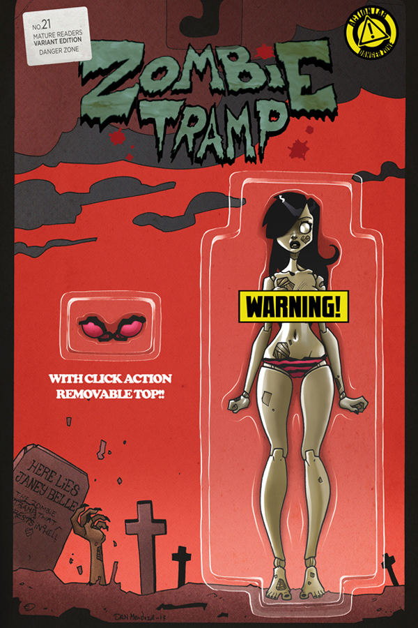 ZOMBIE TRAMP ONGOING #21 CVR D ACTION FIGURE RISQUE (MR)