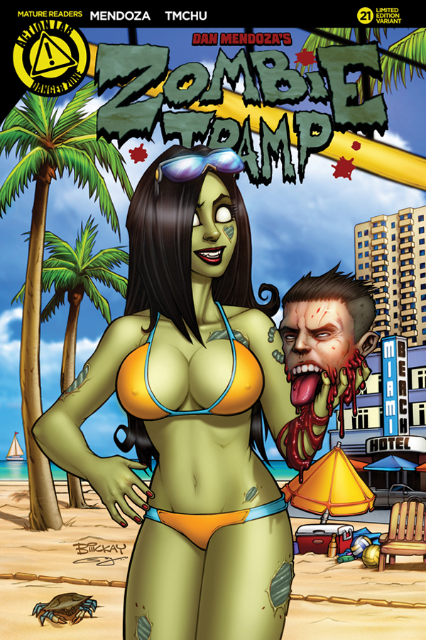 ZOMBIE TRAMP ONGOING #21 CVR E MCKAY