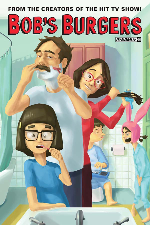 BOBS BURGERS ONGOING #9 CVR B ASHWORTH