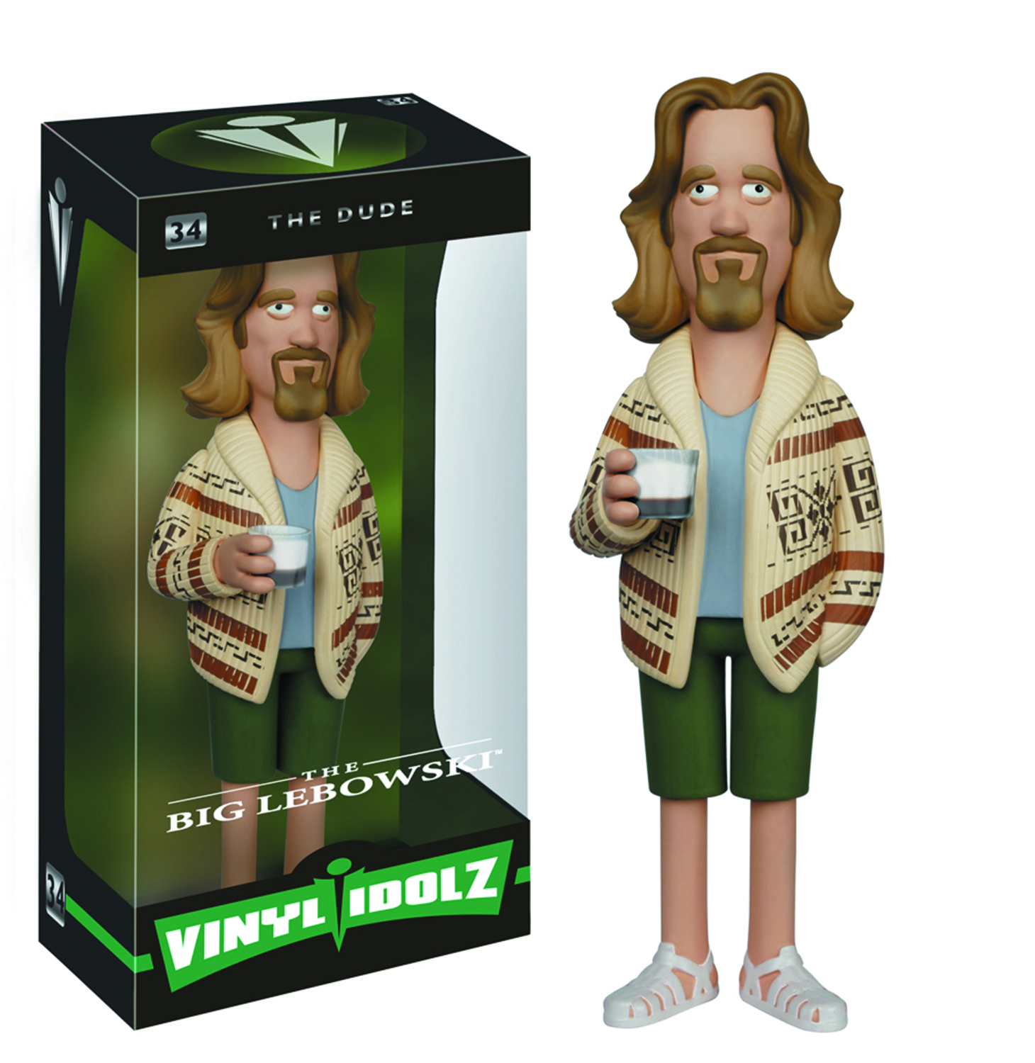 VINYL IDOLZ BIG LEBOWSKI THE DUDE VINYL FIG