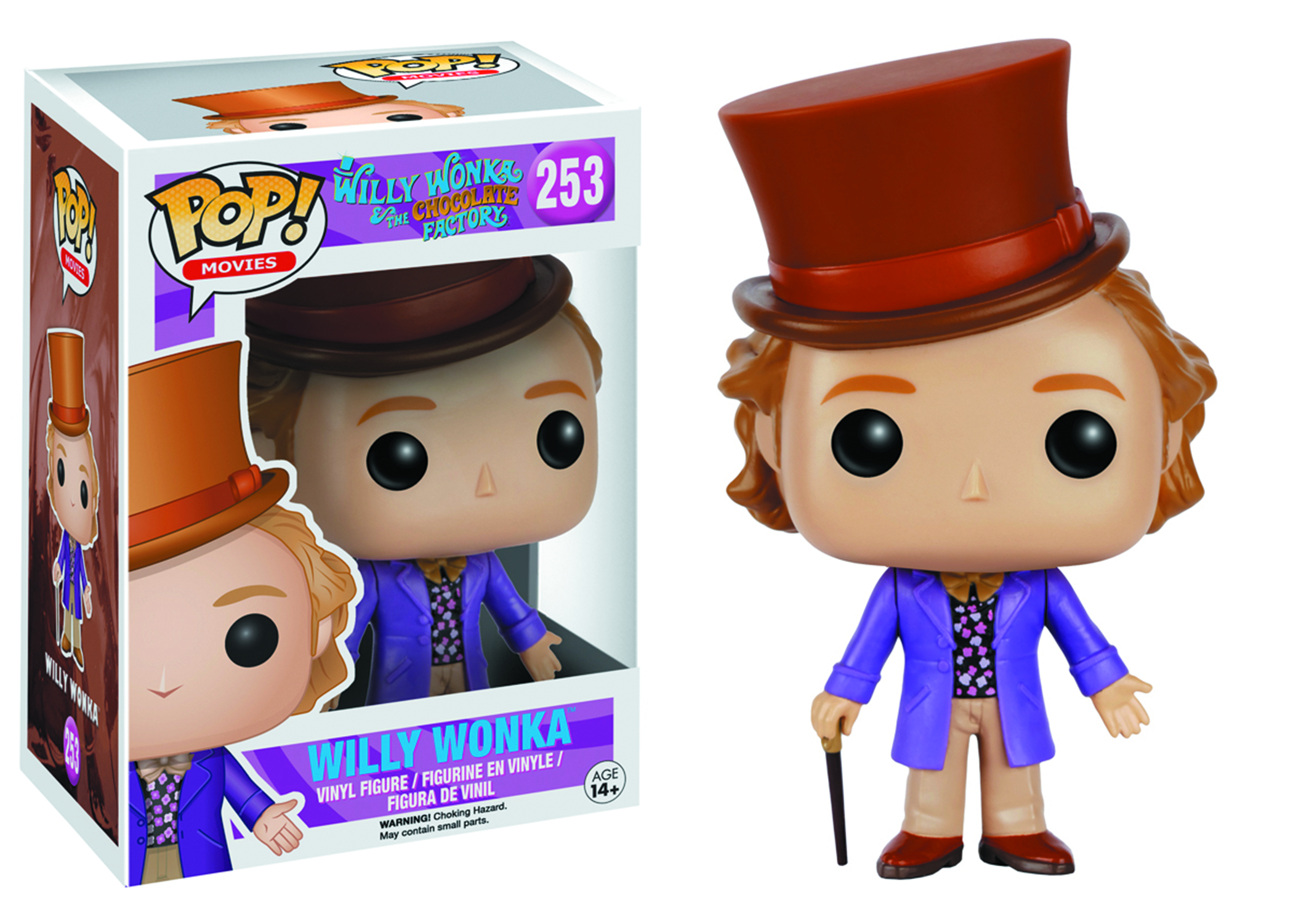 POP WILLY WONKA WILLY WONKA VINYL FIG