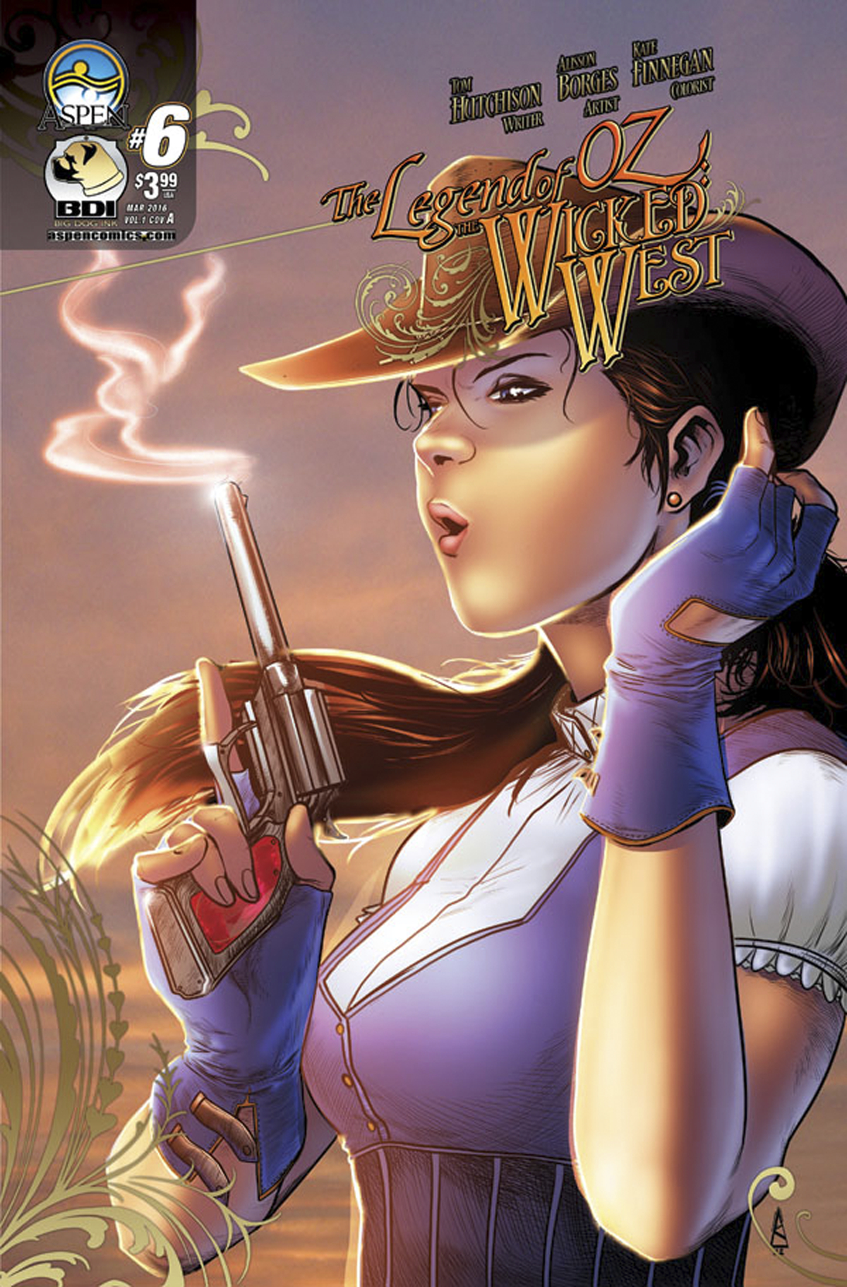 LEGEND OF OZ WICKED WEST #6 CVR A BORGES