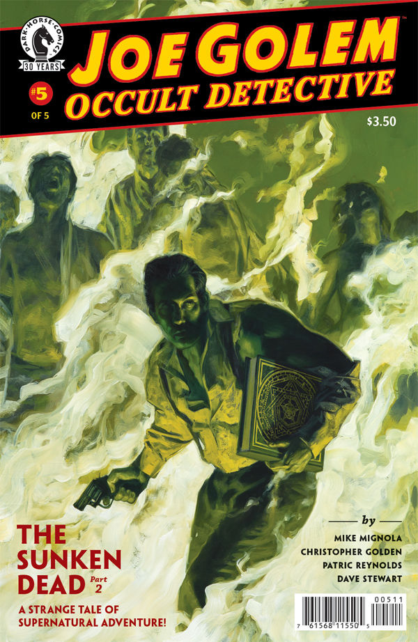 JOE GOLEM OCCULT DETECTIVE #5