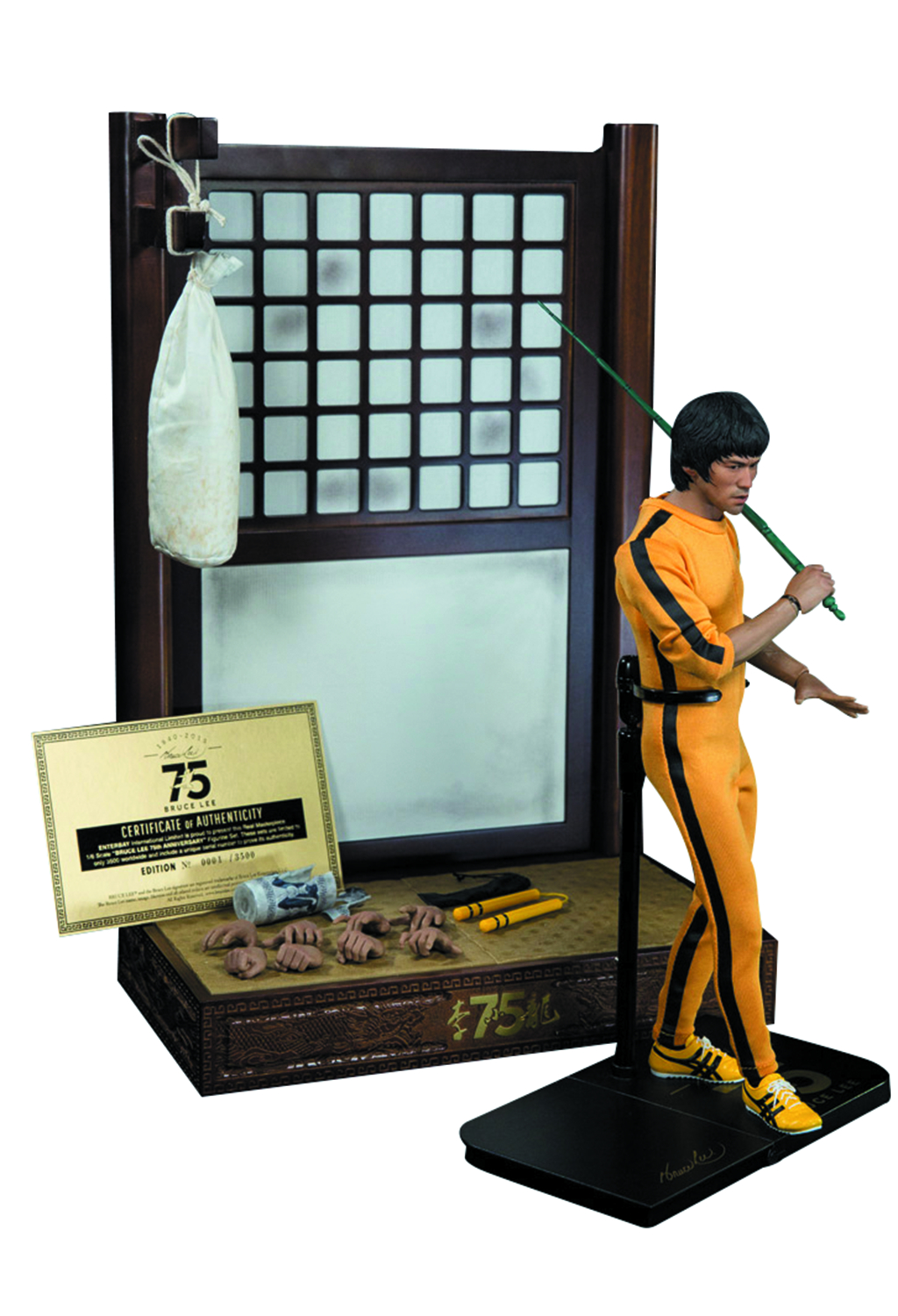 BRUCE LEE 75TH ANNIVERSARY MASTERPIECE 1/6 AF