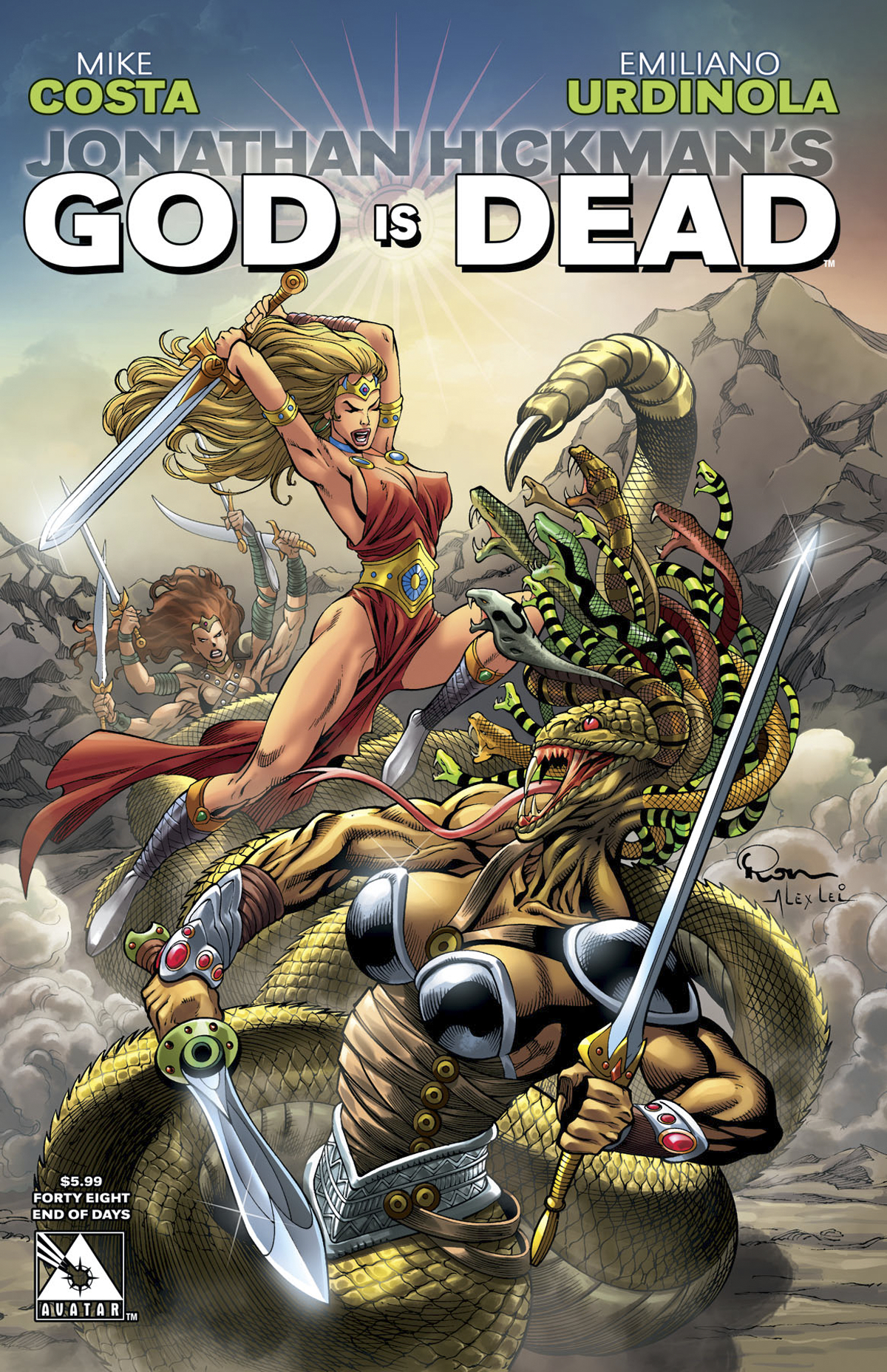 GOD IS DEAD #48 END OF DAYS CVR