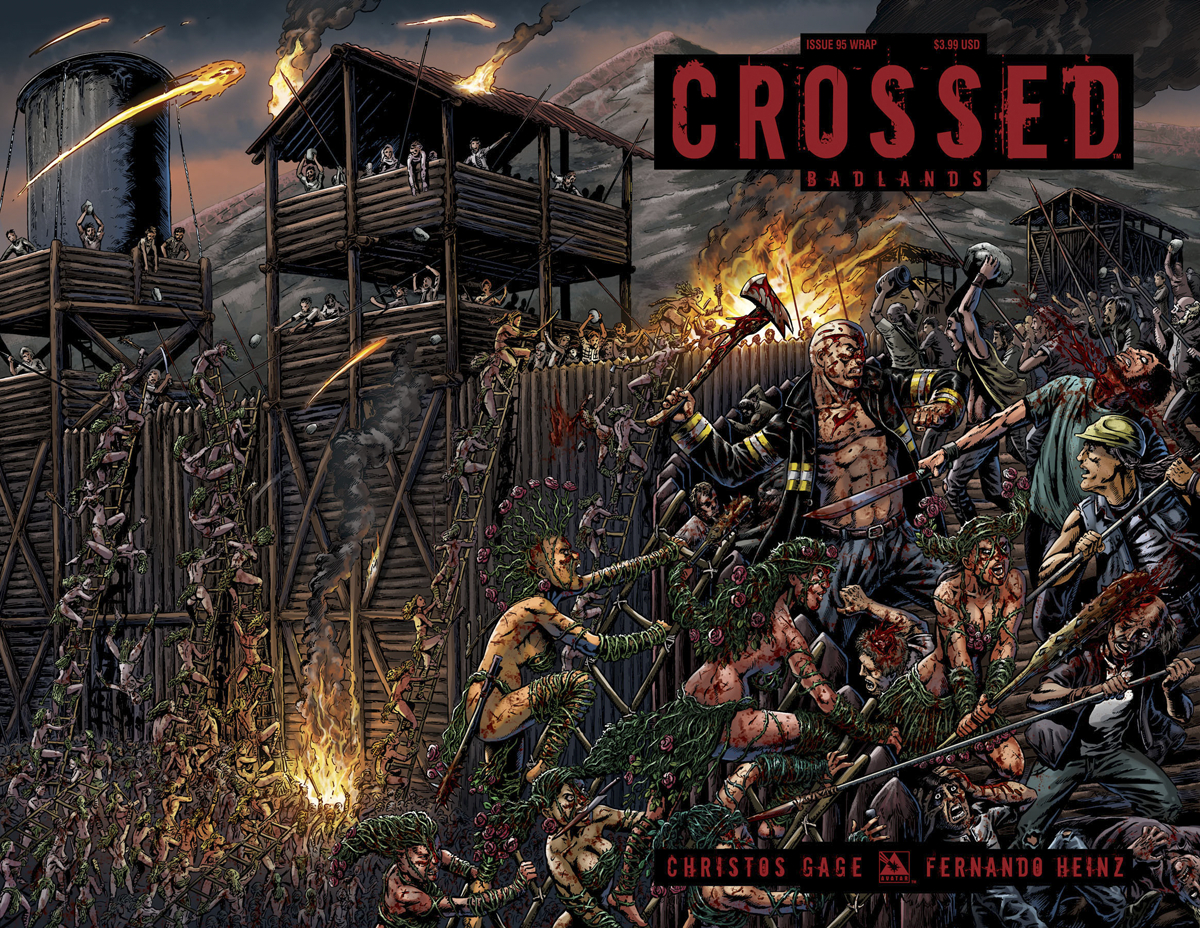CROSSED BADLANDS #95 WRAP CVR