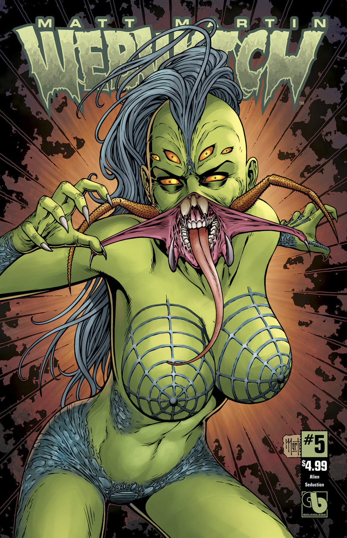 WEBWITCH #5 (OF 5) ALIEN SEDUCTION CVR