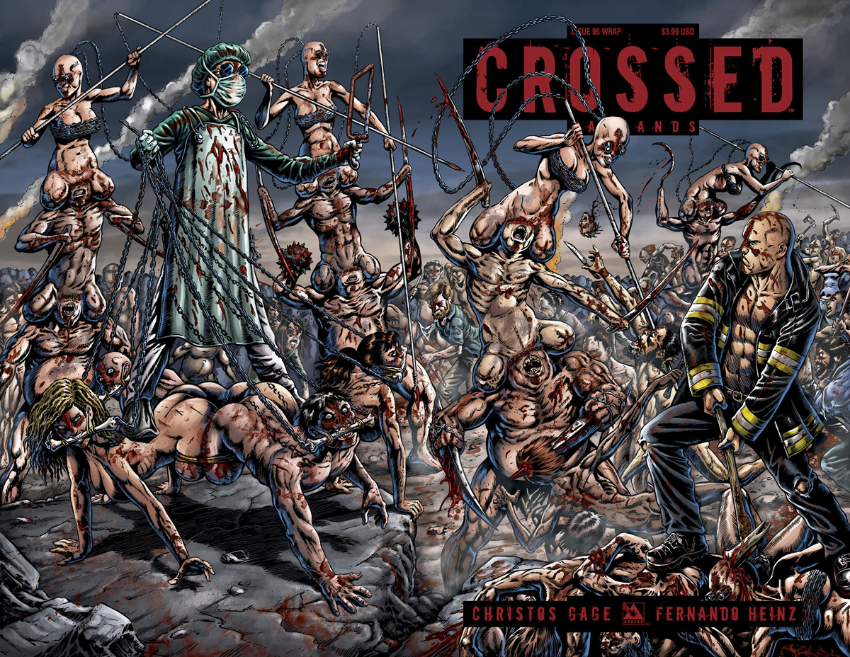 CROSSED BADLANDS #96 WRAP CVR (MR)