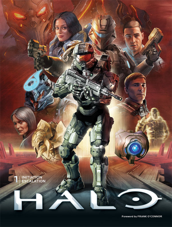 HALO LIBRARY ED HC VOL 01 (JAN160170)