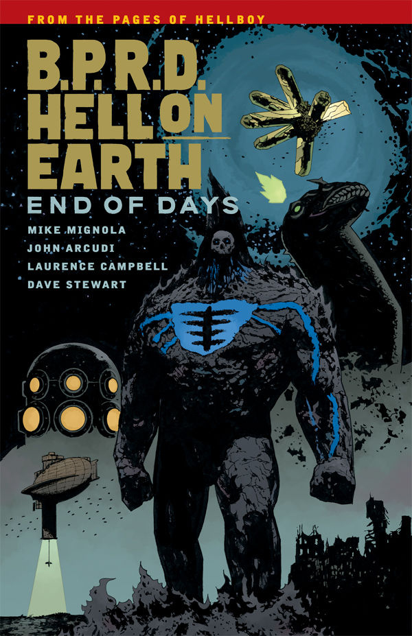 BPRD HELL ON EARTH TP VOL 13 END OF DAYS (JAN160134)