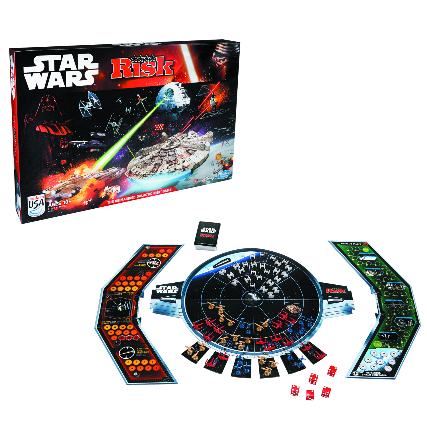 RISK STAR WARS EDITION GAME CS