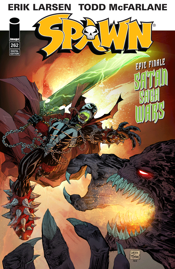 JAN160615 - SPAWN #262 CVR A LARSEN - Previews World