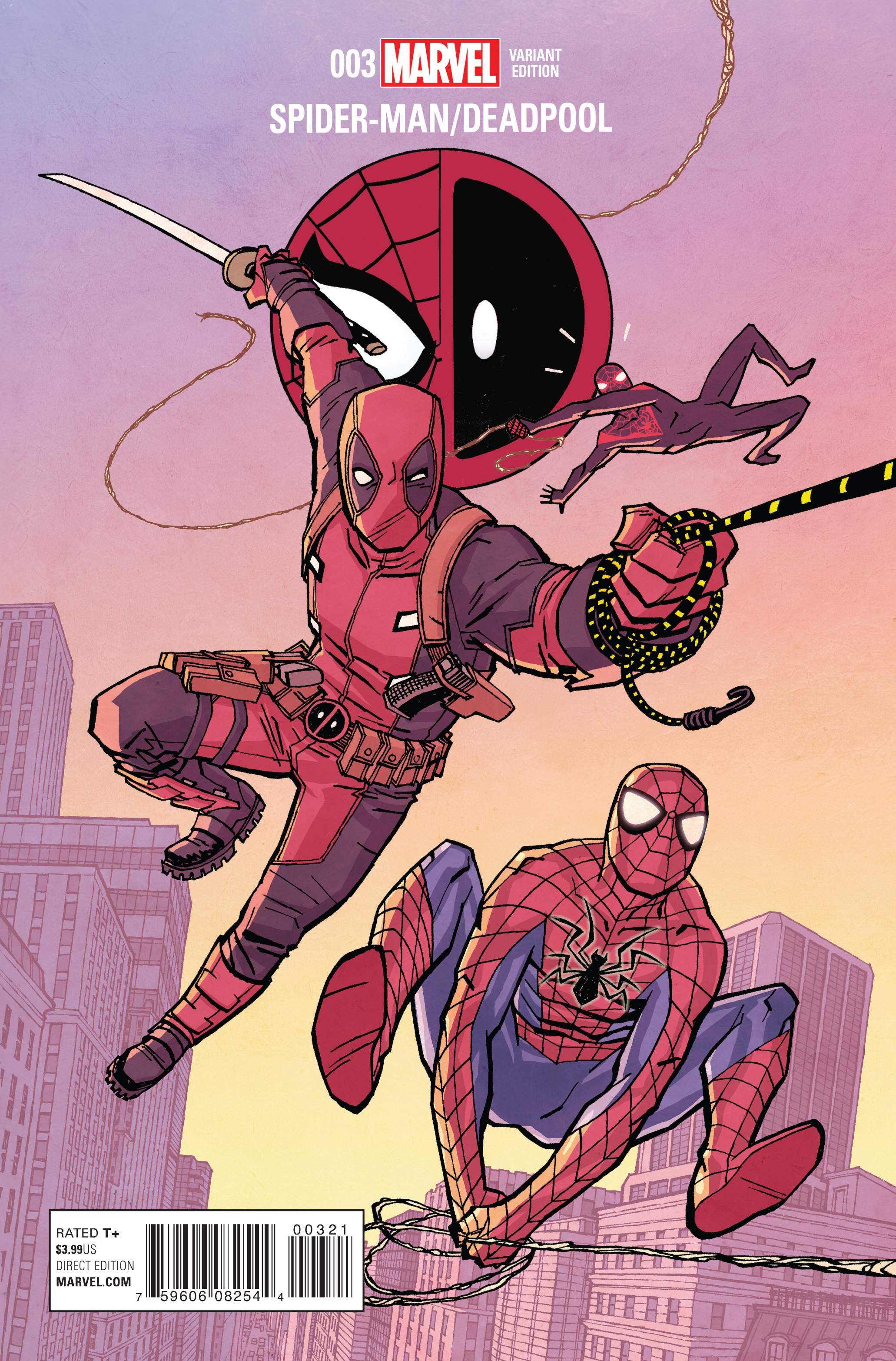 SPIDER-MAN DEADPOOL #3 CHIANG VAR