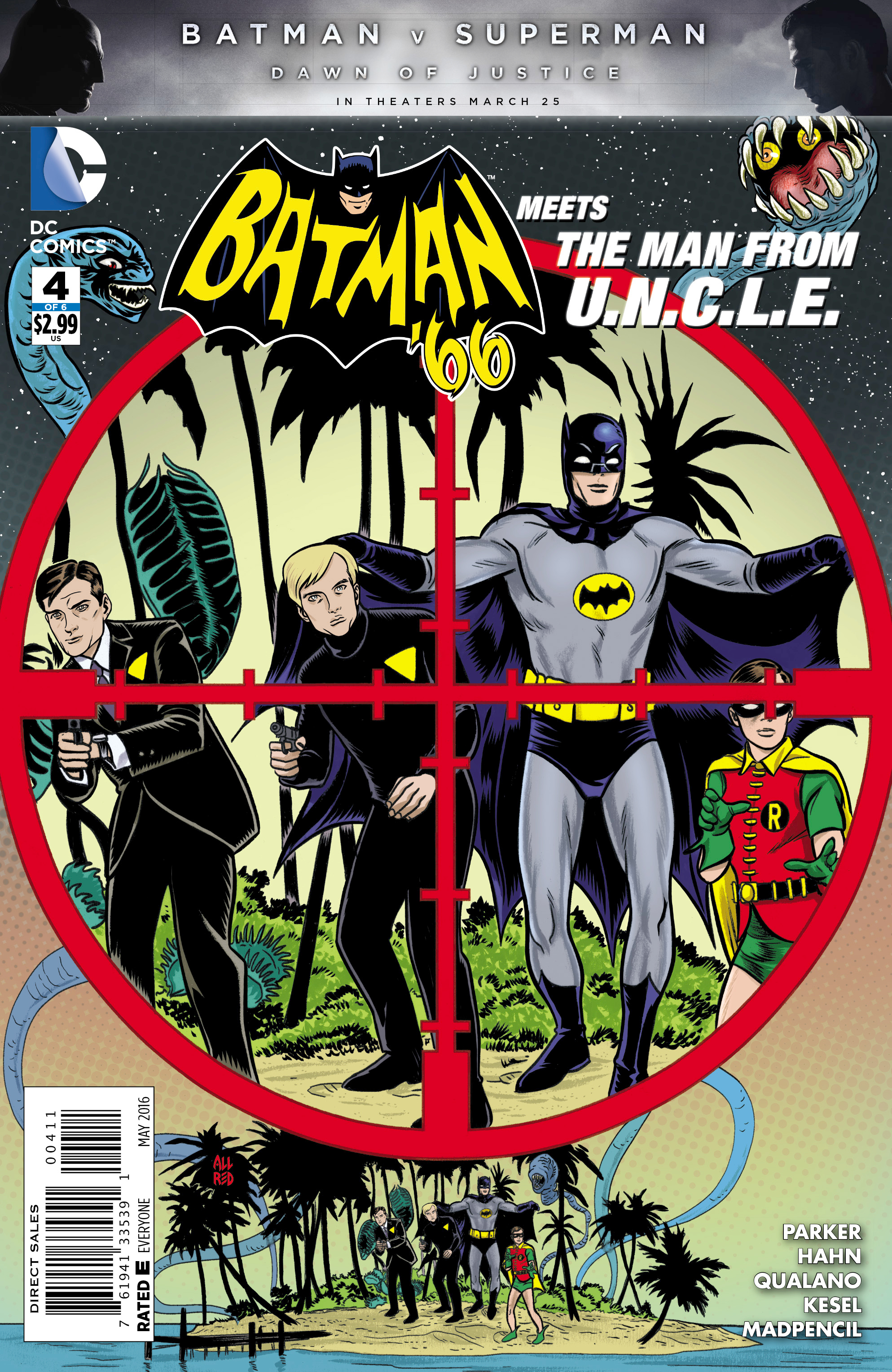 BATMAN 66 MEETS THE MAN FROM UNCLE #4